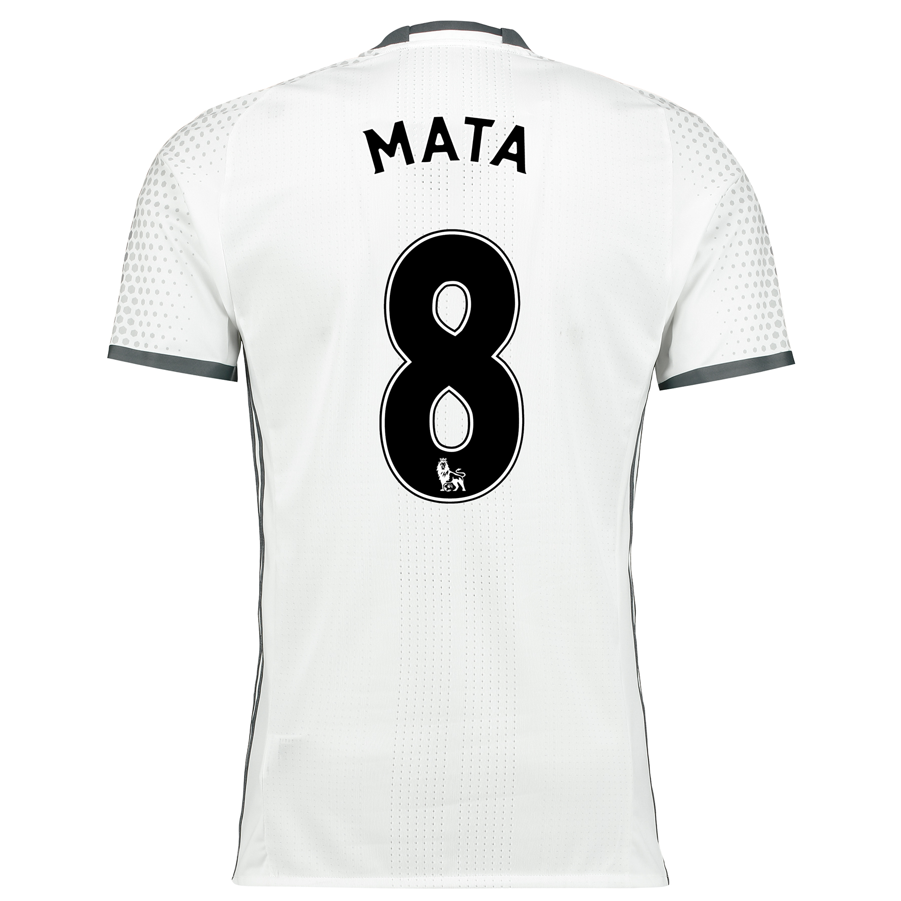 Manchester United Third Adi Zero Shirt 2016-17 with Mata 8 printing