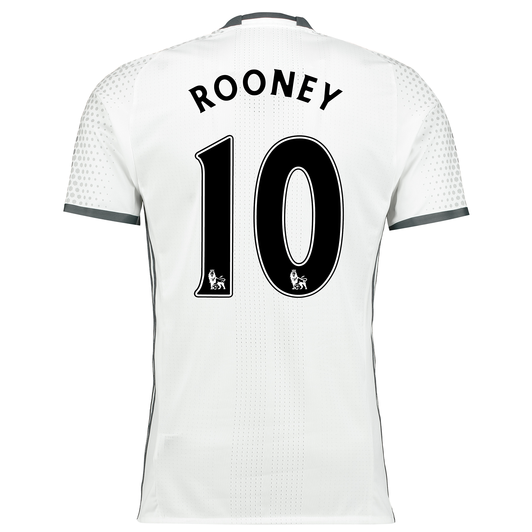 Manchester United Third Adi Zero Shirt 2016-17 with Rooney 10 printing