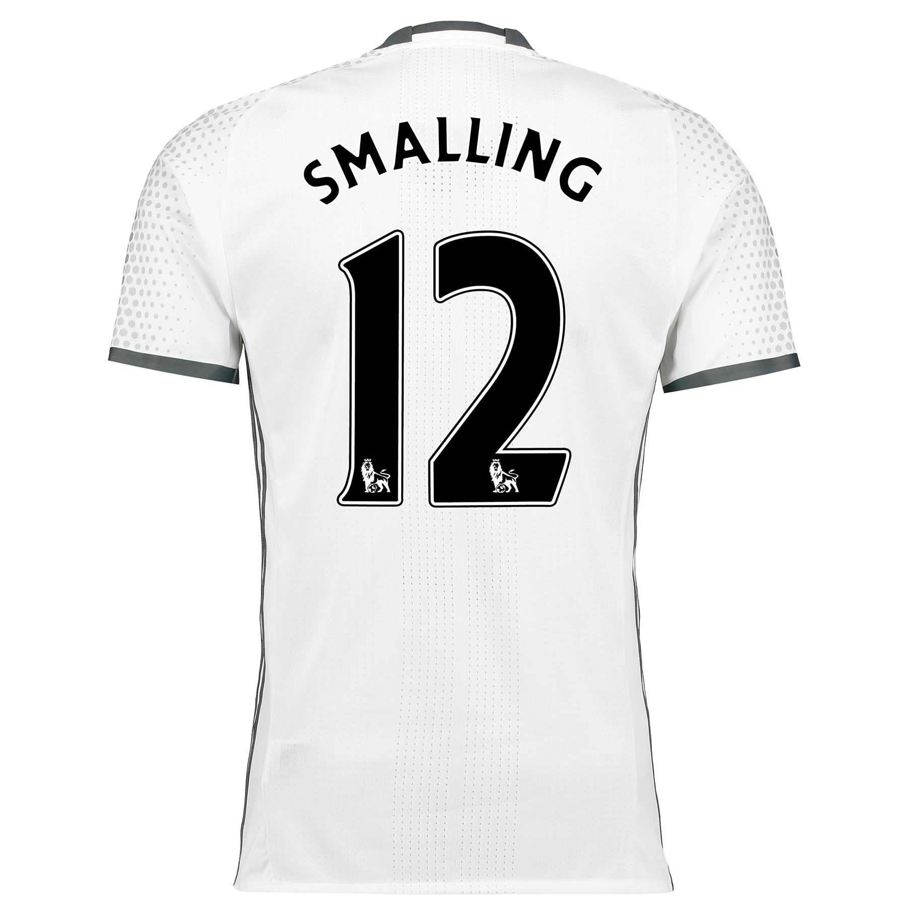 Manchester United Third Adi Zero Shirt 2016-17 with Smalling 12 printi