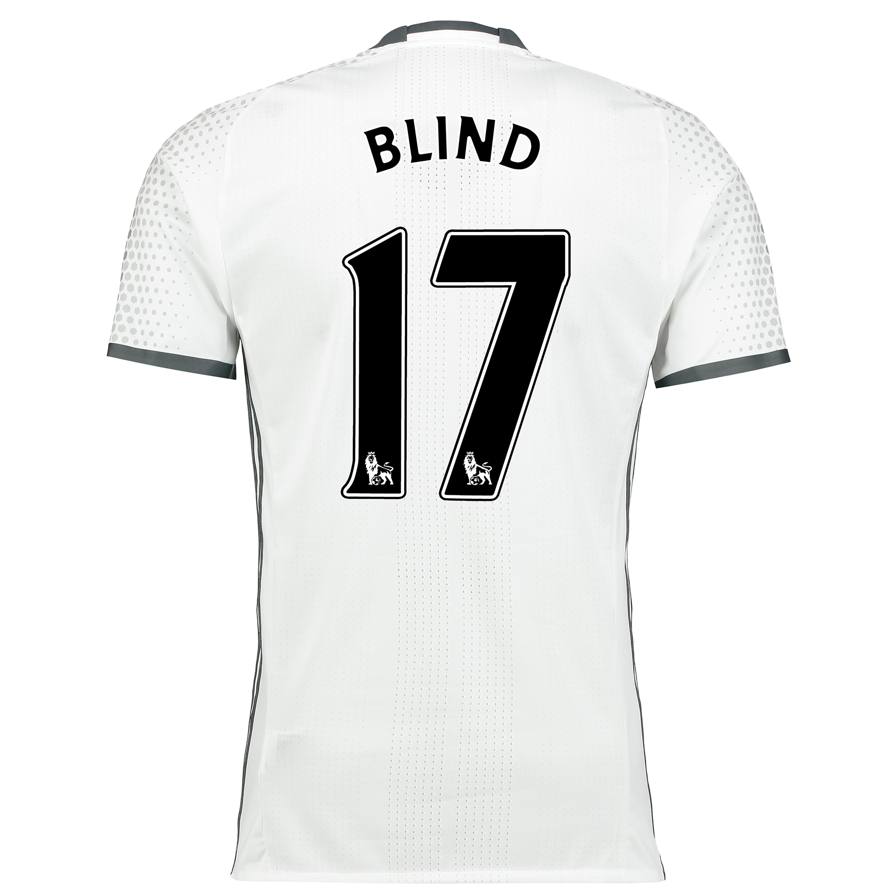 Manchester United Third Adi Zero Shirt 2016-17 with Blind 17 printing