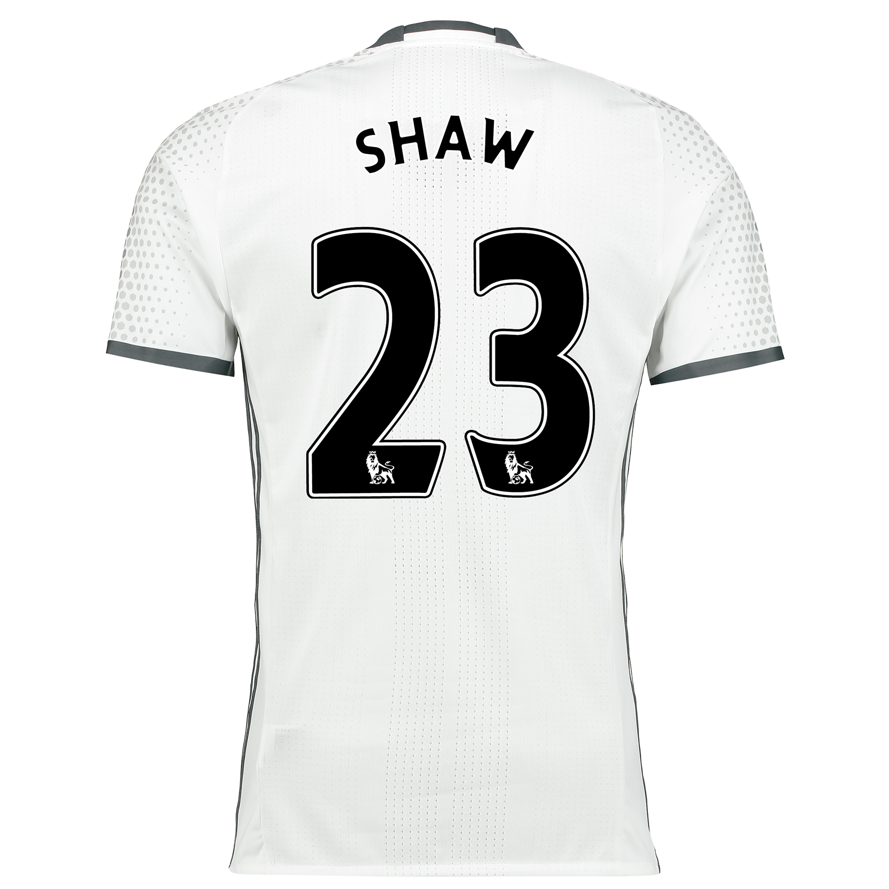 Manchester United Third Adi Zero Shirt 2016-17 with Shaw 23 printing