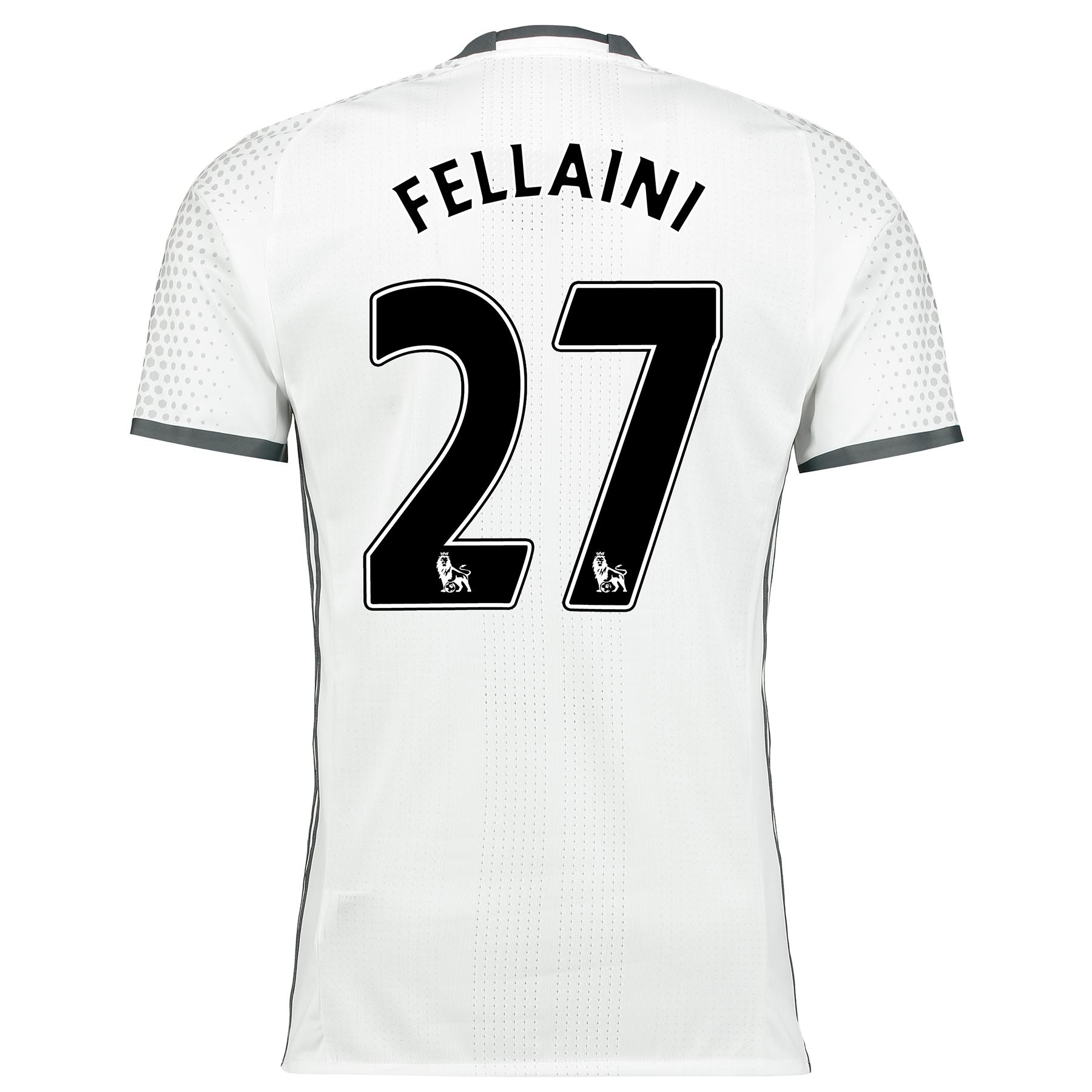 Manchester United Third Adi Zero Shirt 2016-17 with Fellaini 27 printi