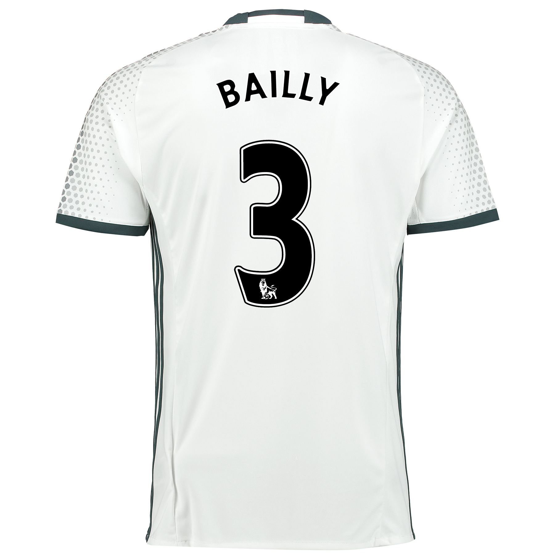 Manchester United Third Shirt 2016-17 with Bailly 3 printing