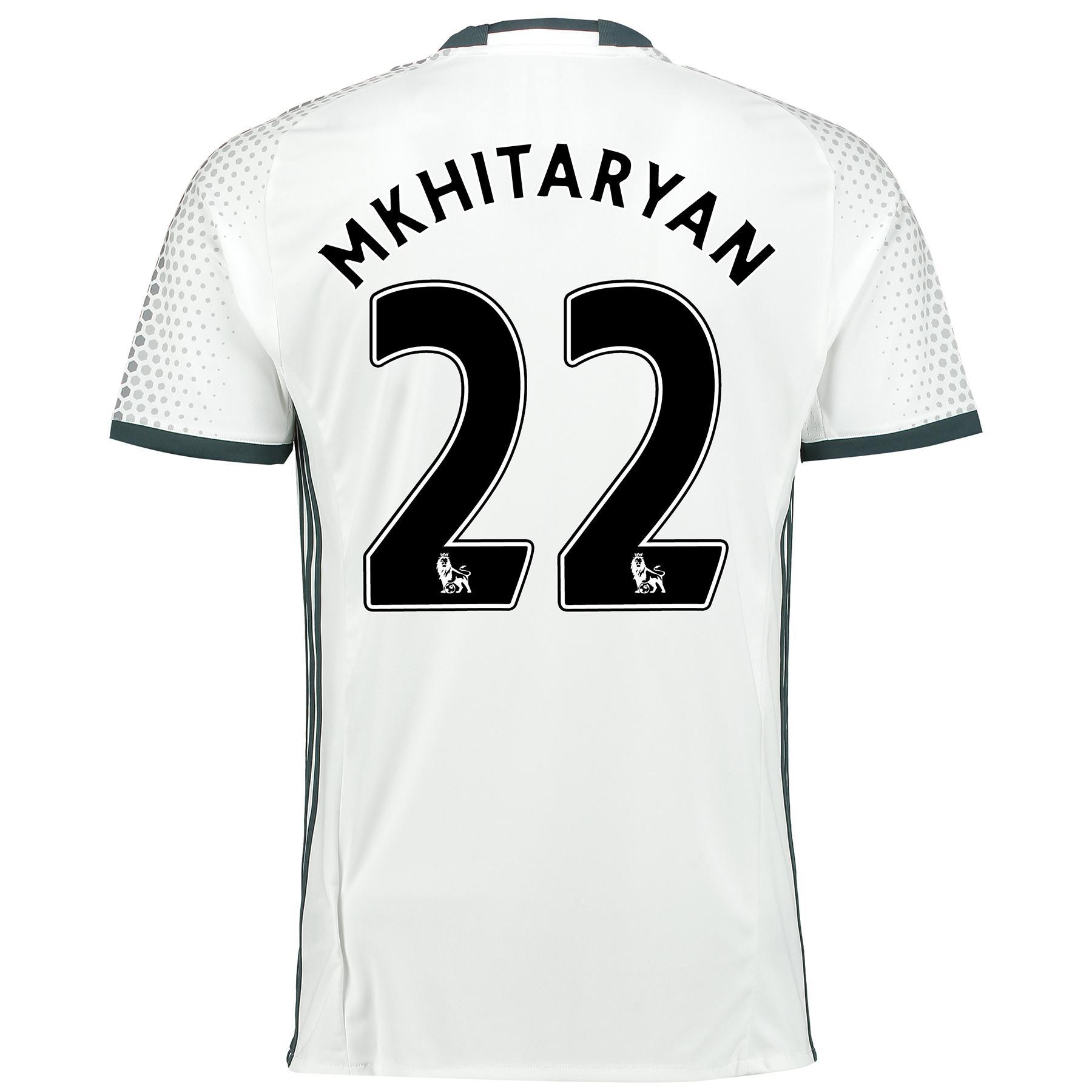 Manchester United Third Shirt 2016-17 with Mkhitaryan 22 printing