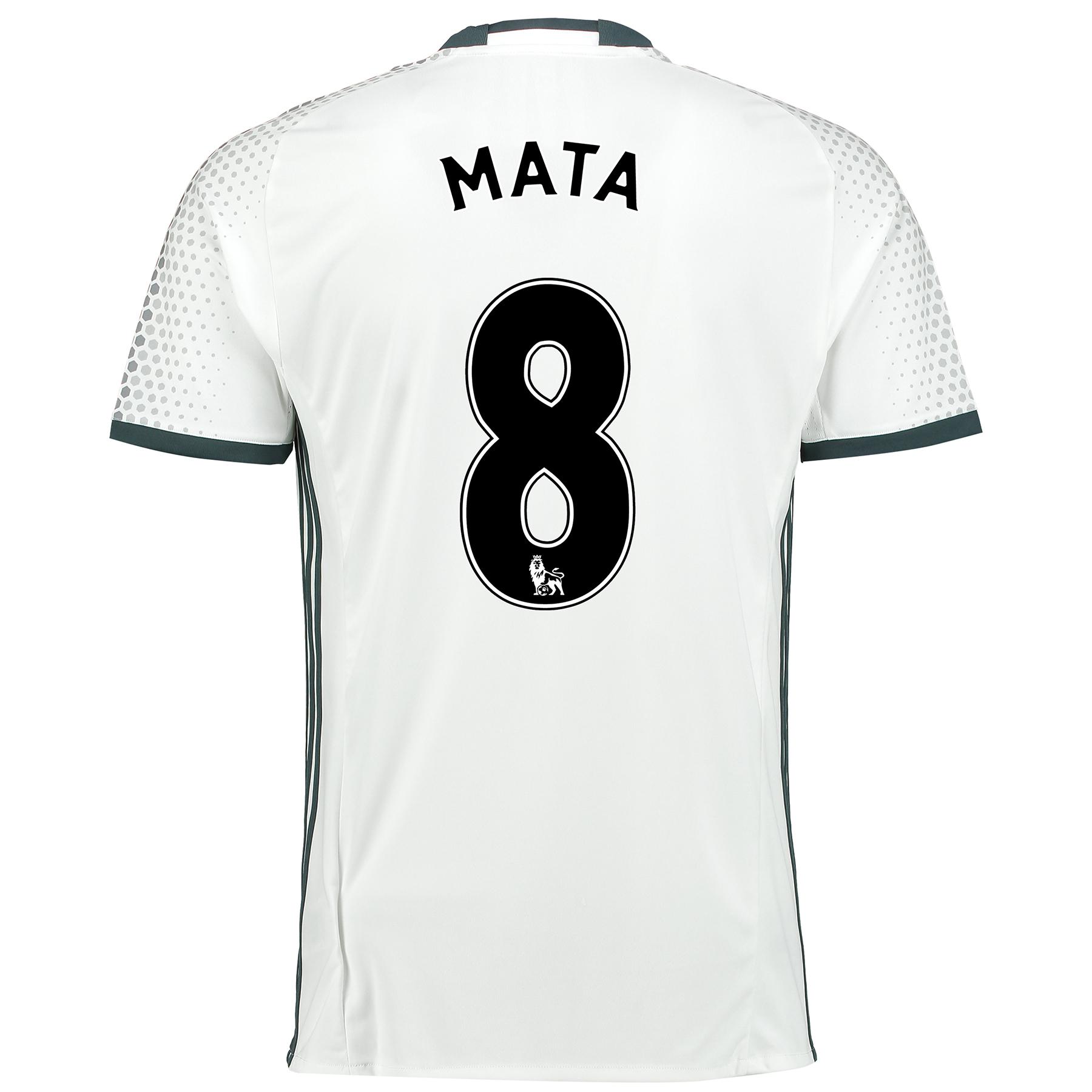 Manchester United Third Shirt 2016-17 with Mata 8 printing