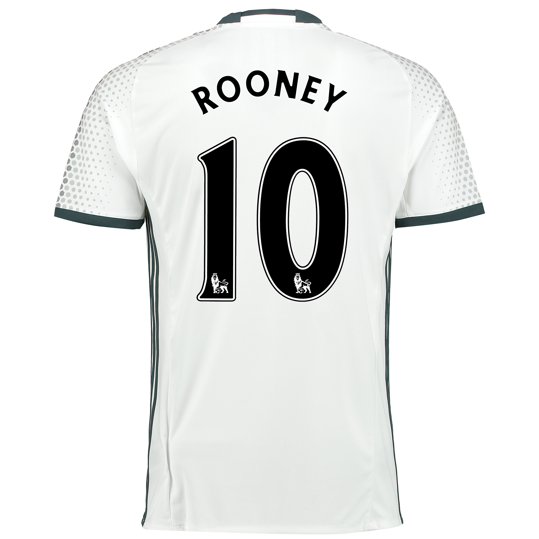 Manchester United Third Shirt 2016-17 with Rooney 10 printing