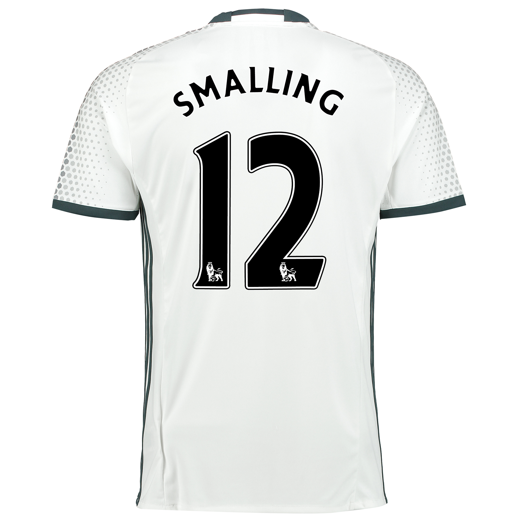 Manchester United Third Shirt 2016-17 with Smalling 12 printing