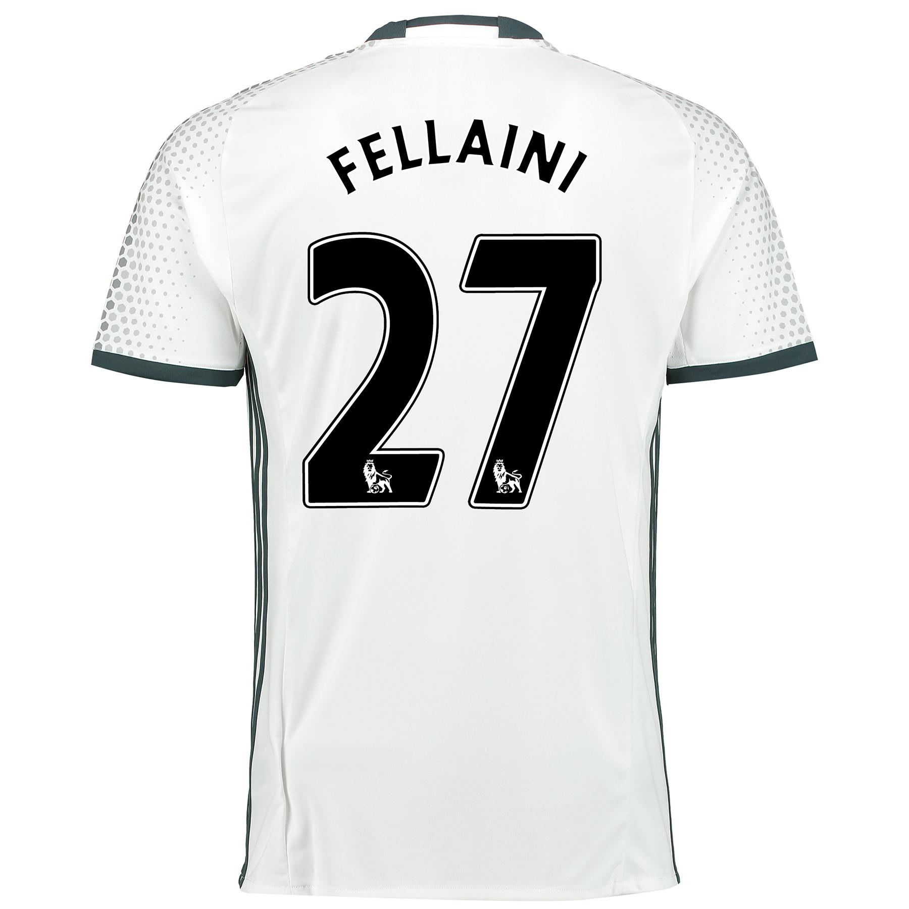 Manchester United Third Shirt 2016-17 with Fellaini 27 printing