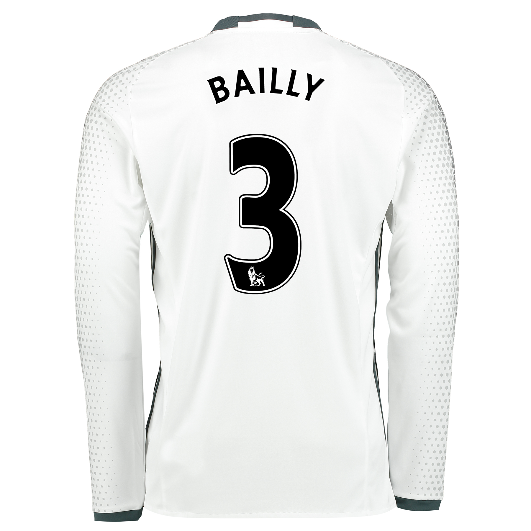 Manchester United Third Shirt 2016-17 - Long Sleeve with Bailly 3 prin