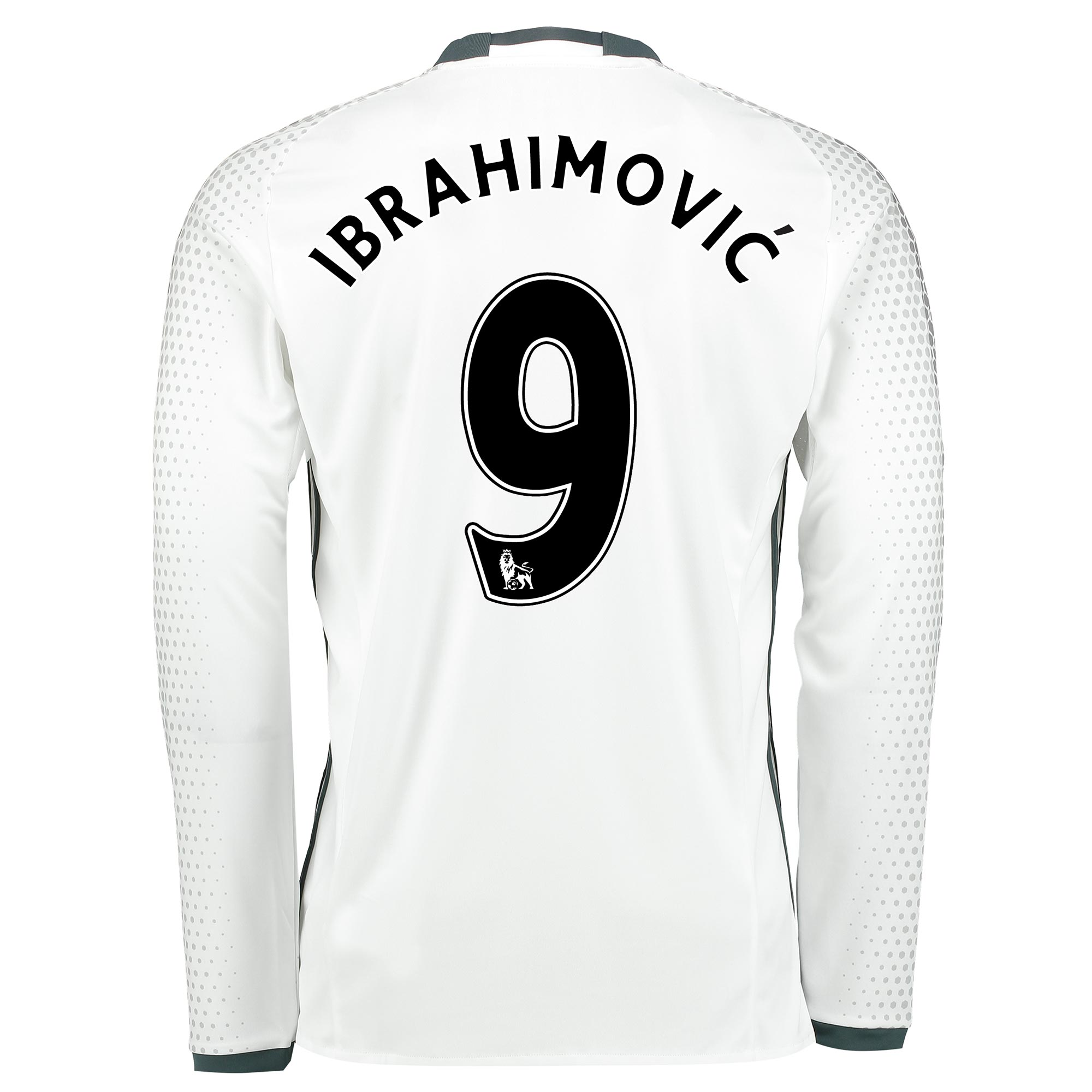 Manchester United Third Shirt 2016-17 - Long Sleeve with Ibrahimovic 9