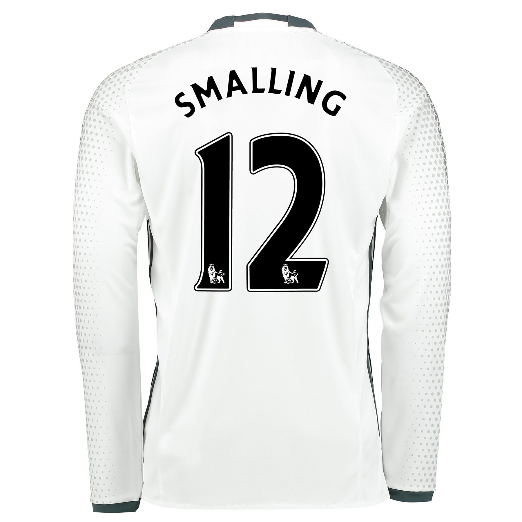 Manchester United Third Shirt 2016-17 - Long Sleeve with Smalling 12 p