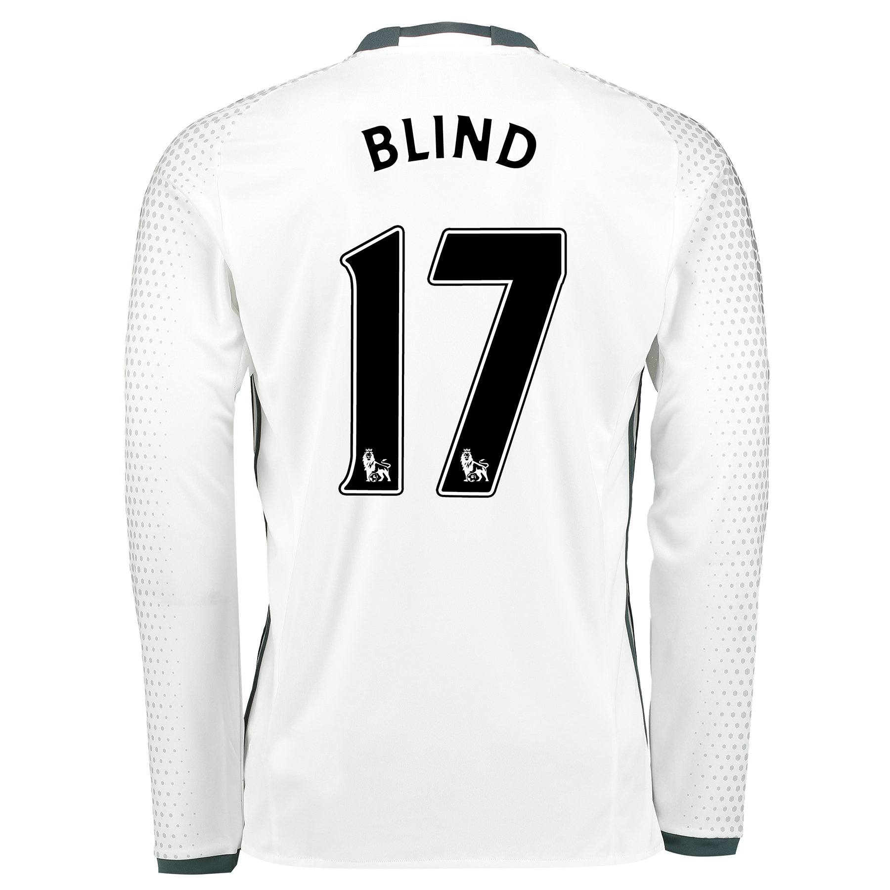 Manchester United Third Shirt 2016-17 - Long Sleeve with Blind 17 prin