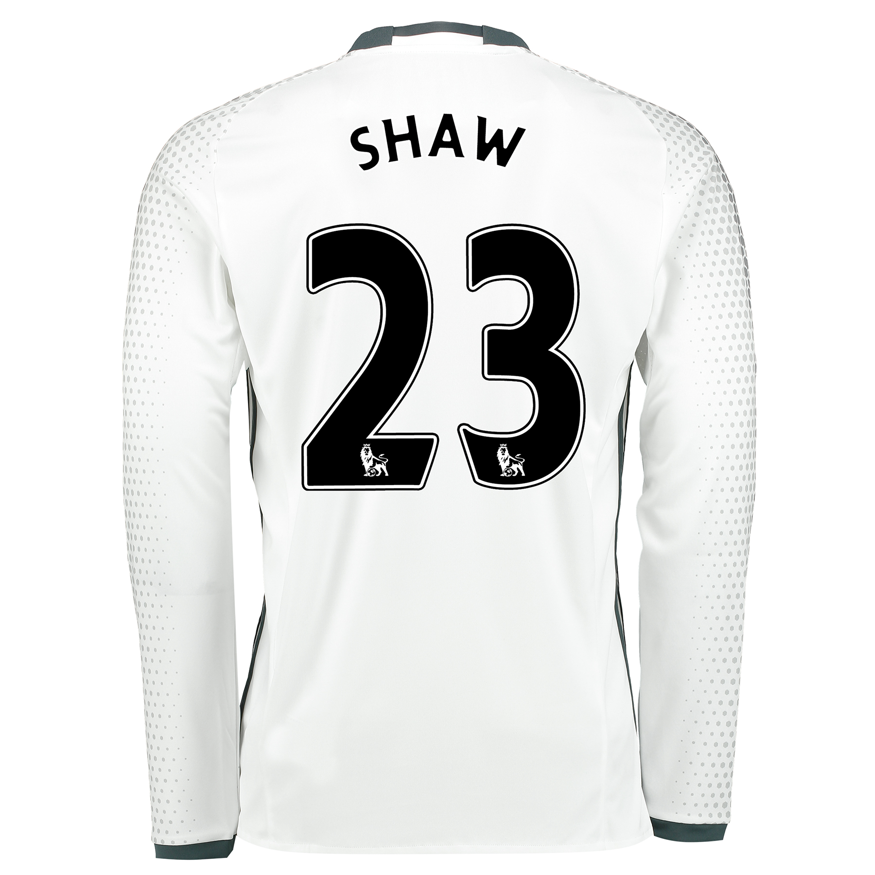 Manchester United Third Shirt 2016-17 - Long Sleeve with Shaw 23 print