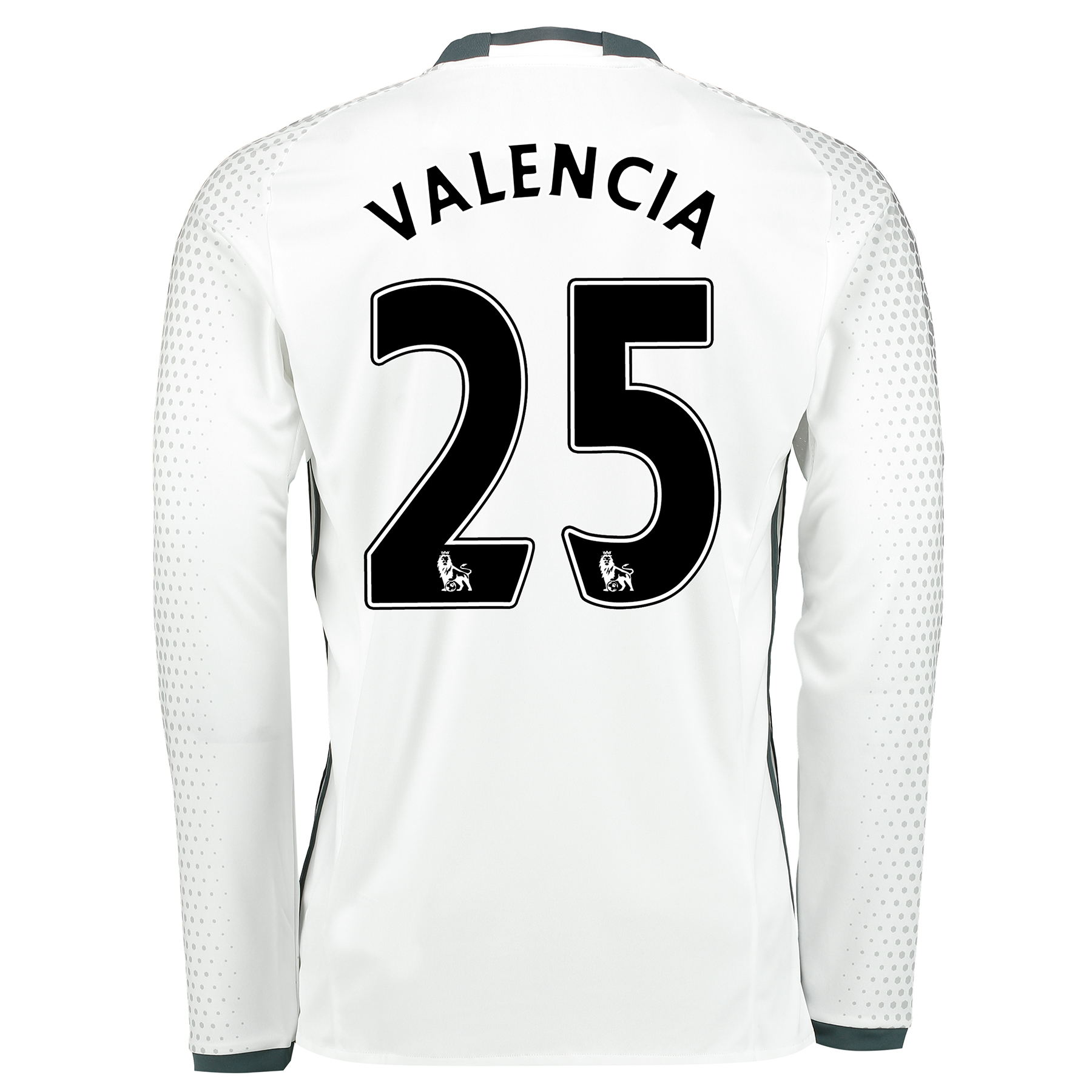 Manchester United Third Shirt 2016-17 - Long Sleeve with Valencia 25 p