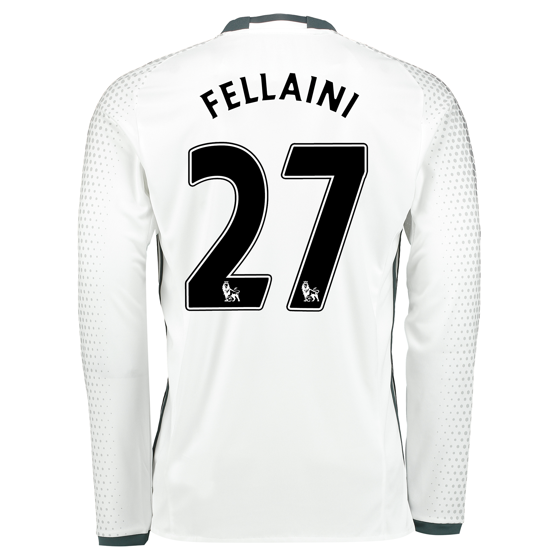 Manchester United Third Shirt 2016-17 - Long Sleeve with Fellaini 27 p