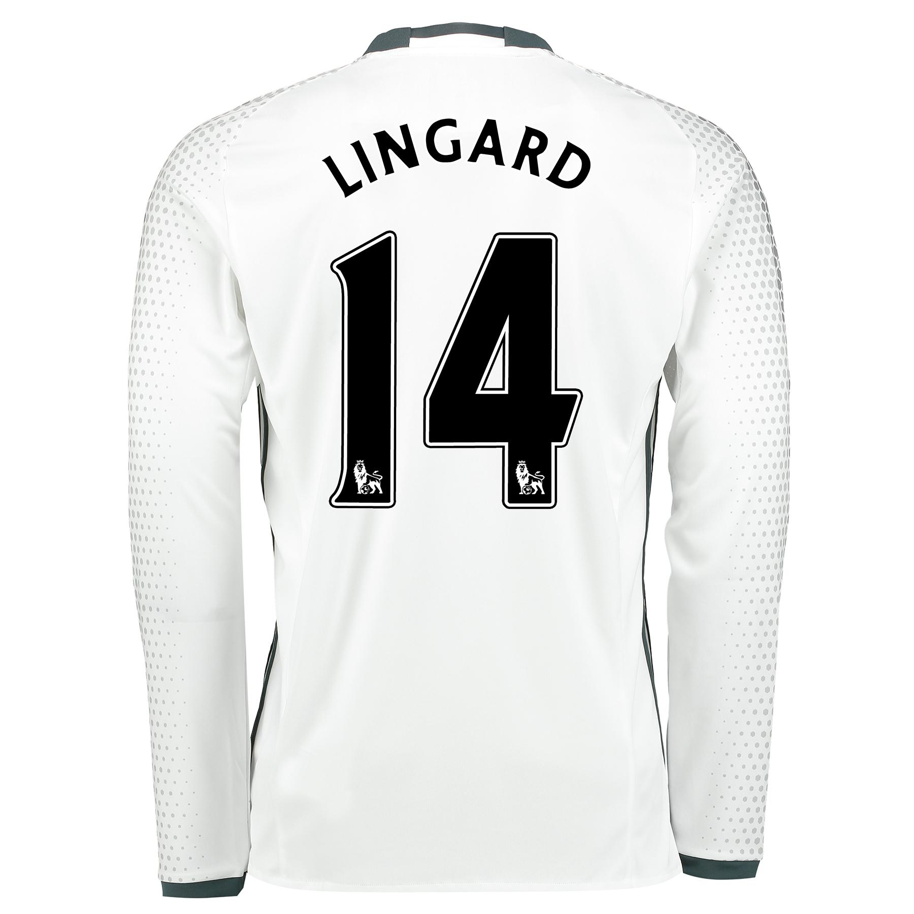 Manchester United Third Shirt 2016-17 - Long Sleeve with Lingard 14 pr