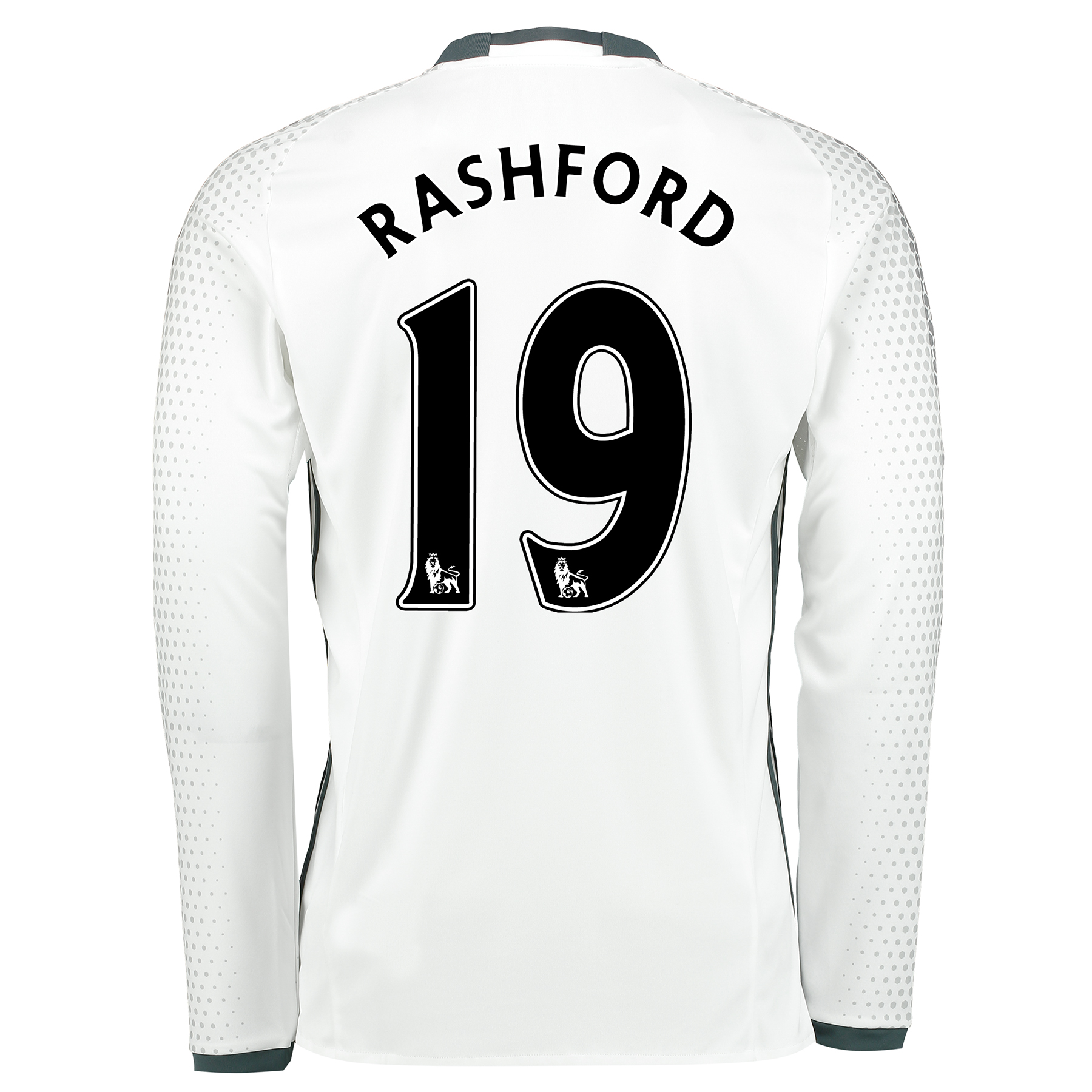Manchester United Third Shirt 2016-17 - Long Sleeve with Rashford 19 p