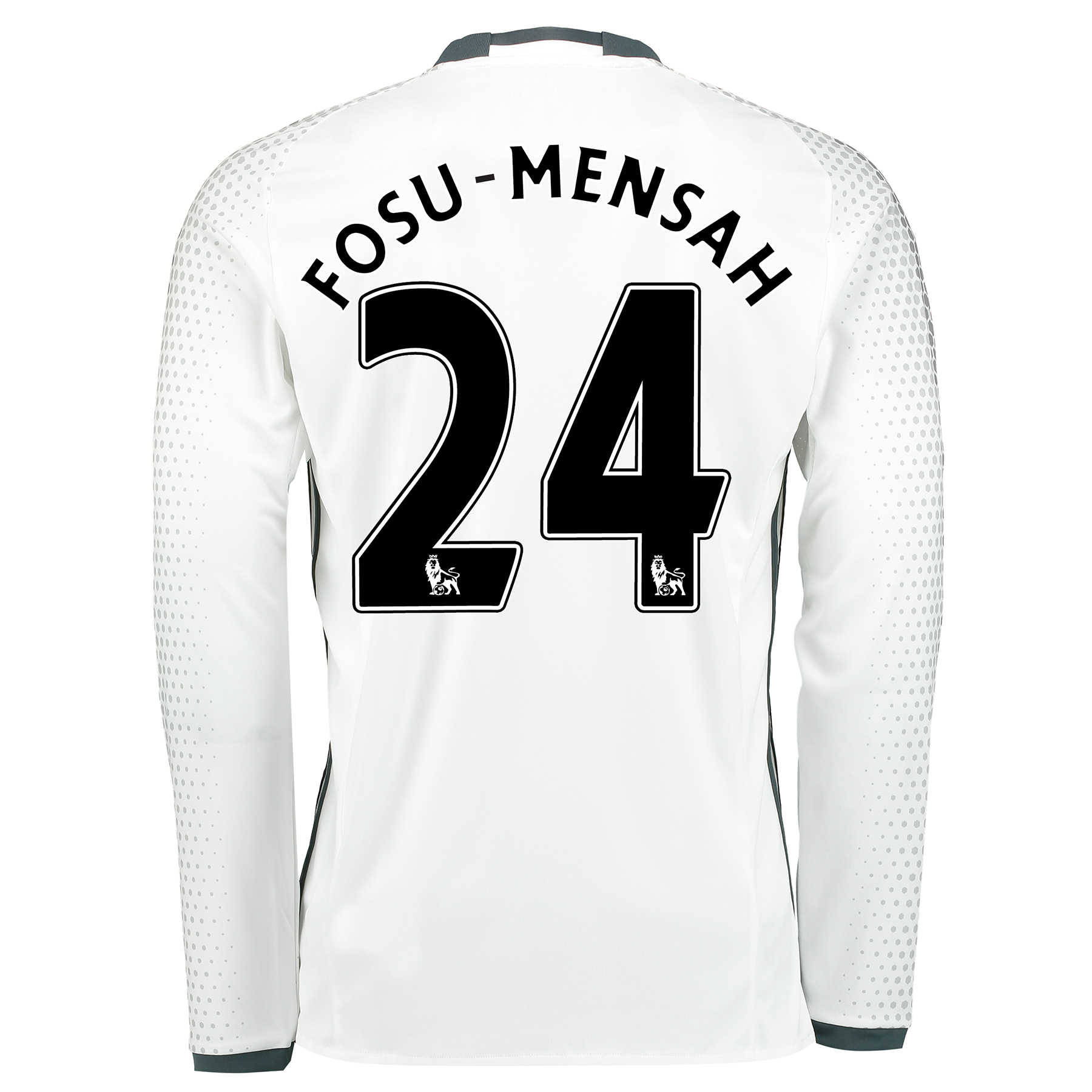Manchester United Third Shirt 2016-17 - Long Sleeve with Fosu-Mensah 2