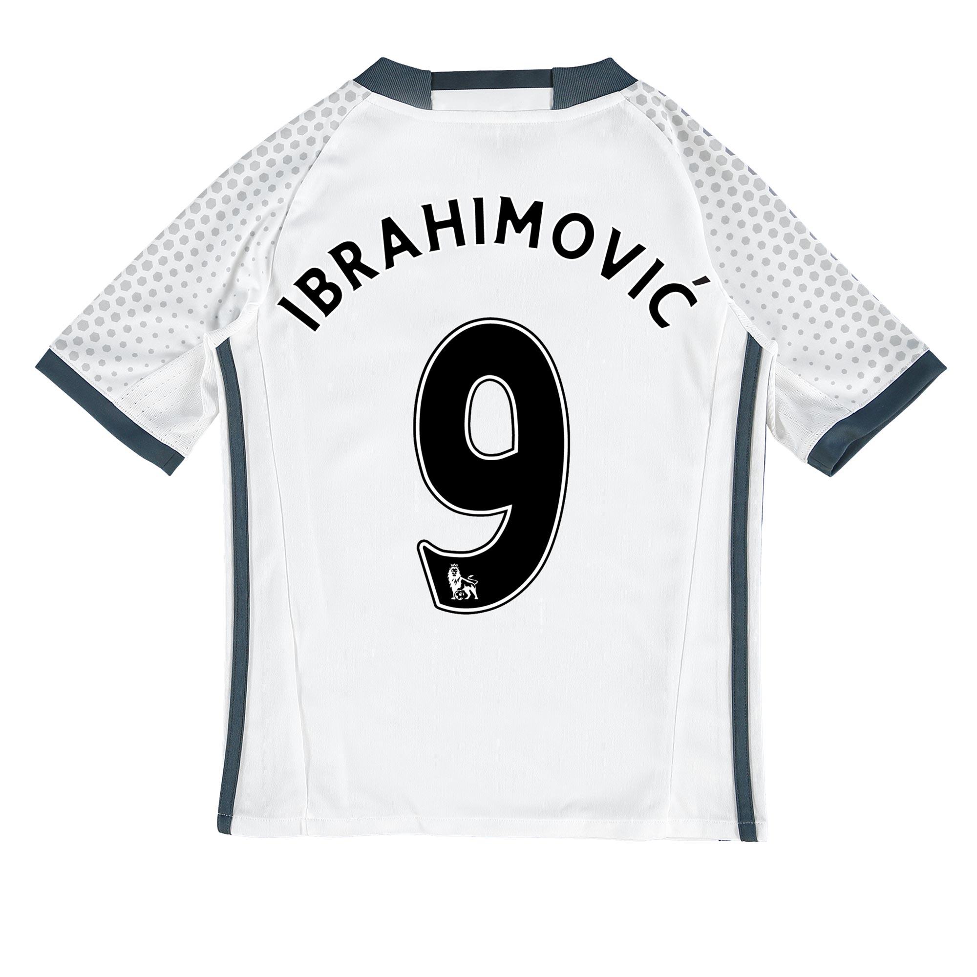 Manchester United Third Shirt 2016-17 - Kids with Ibrahimovic 9 printi