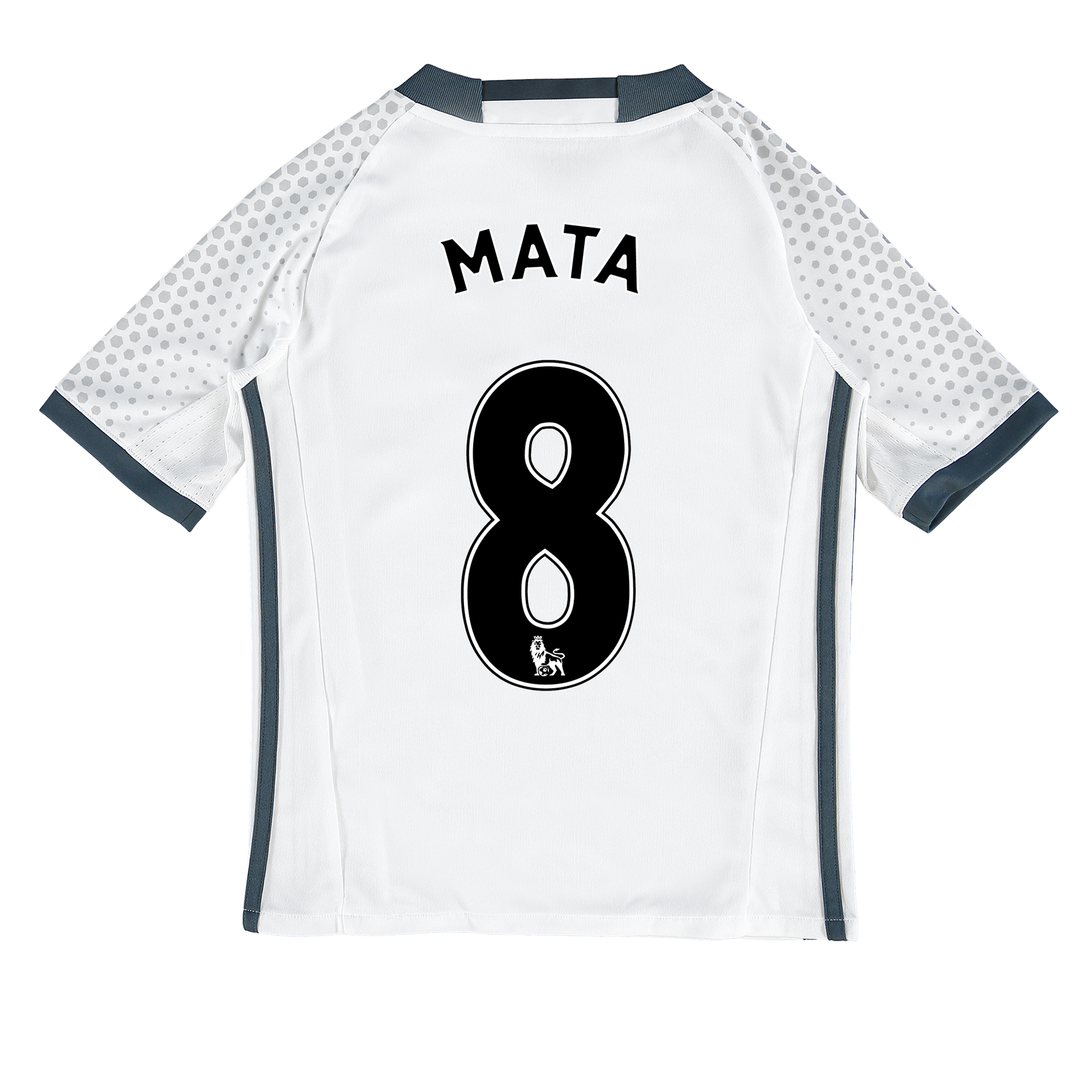 Manchester United Third Shirt 2016-17 - Kids with Mata 8 printing
