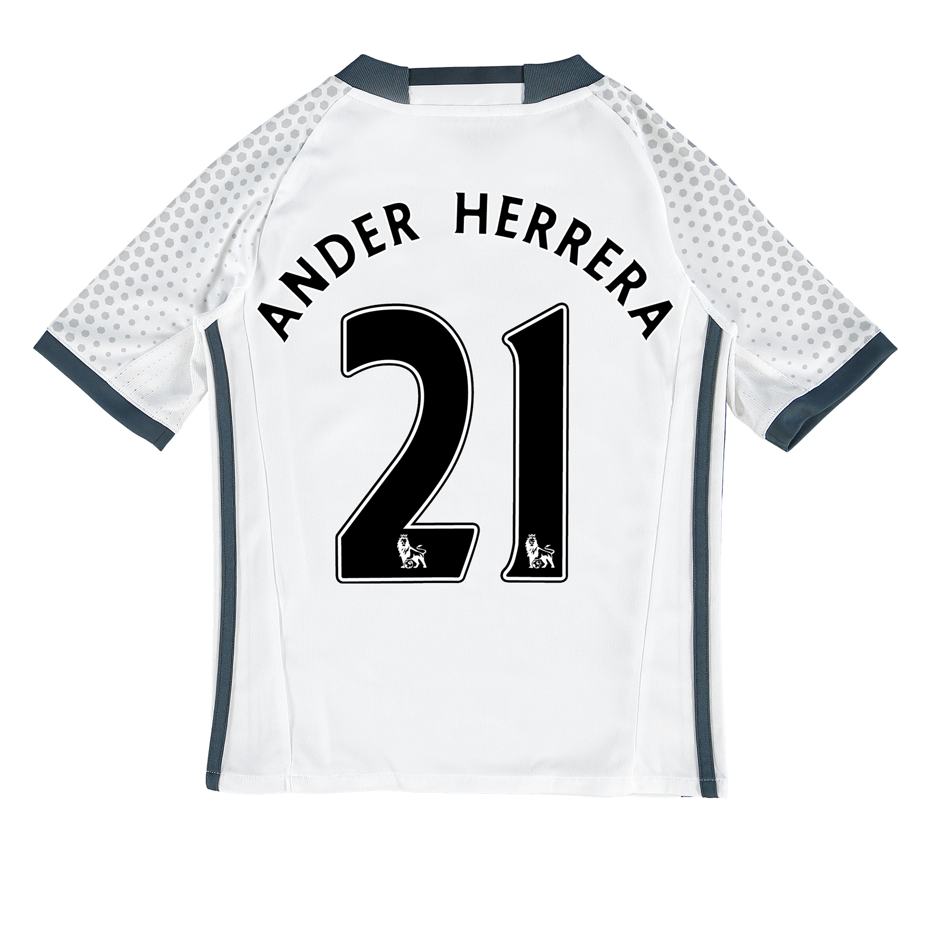Manchester United Third Shirt 2016-17 - Kids with Herrera 21 printing