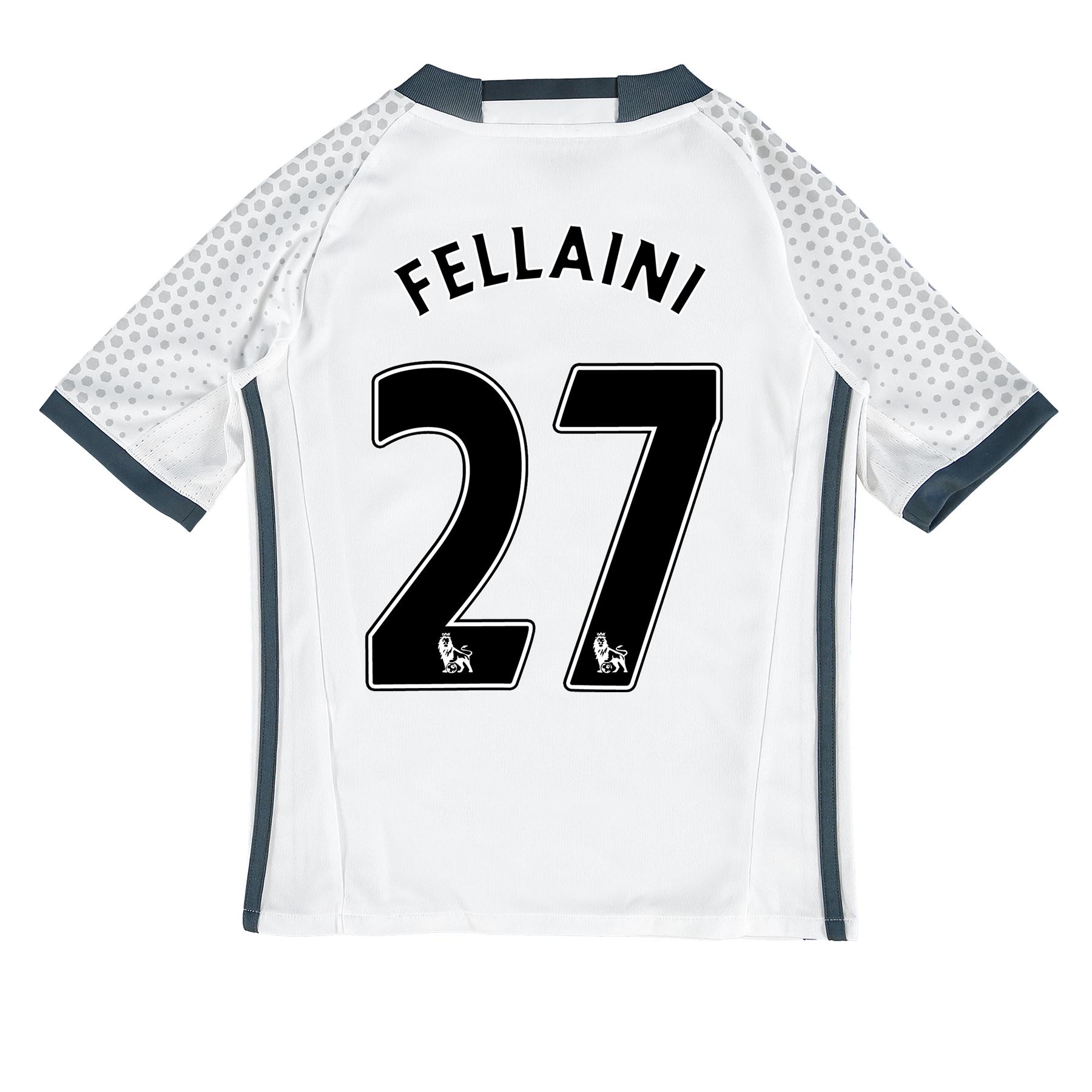 Manchester United Third Shirt 2016-17 - Kids with Fellaini 27 printing