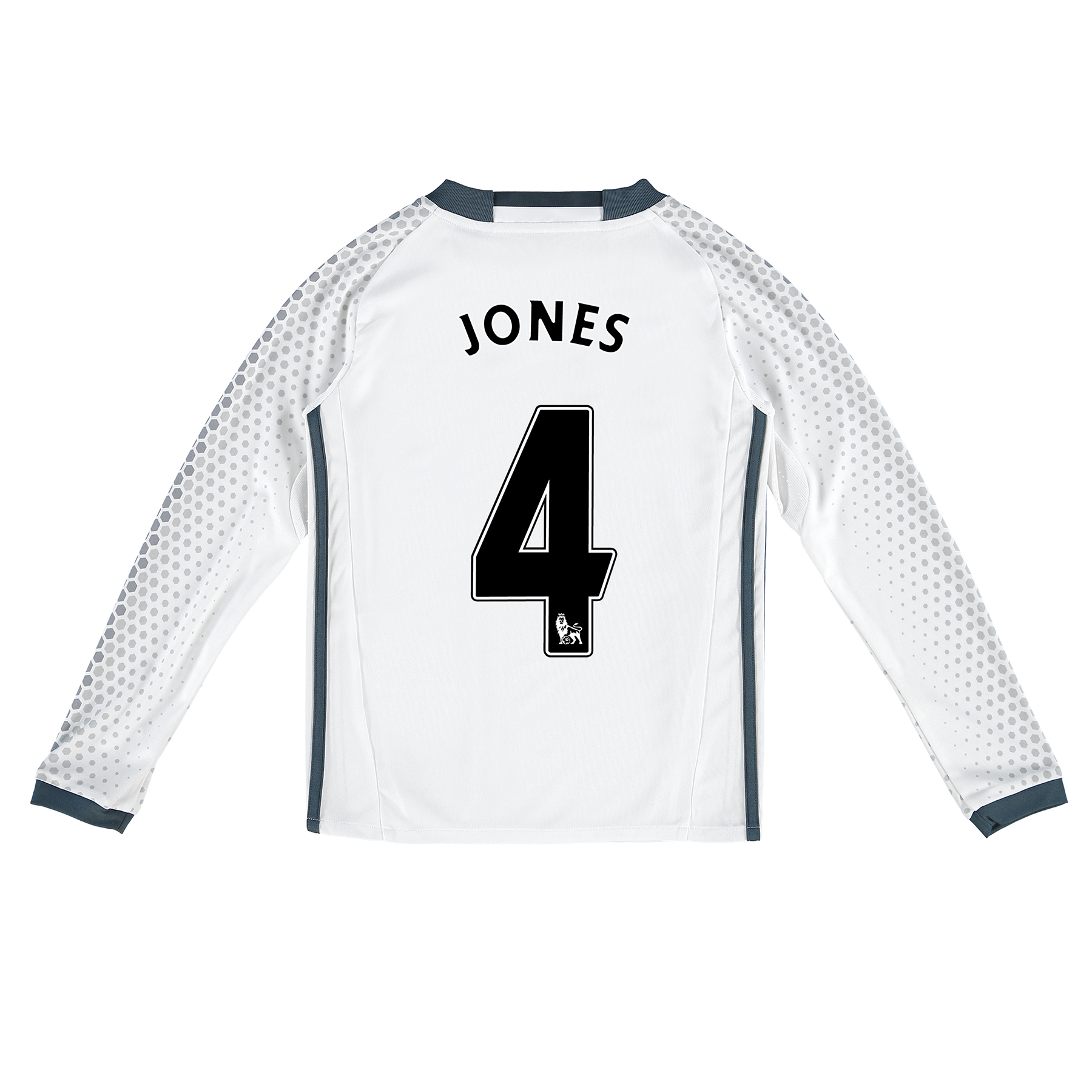 Manchester United Third Shirt 2016-17 - Kids - Long Sleeve with Jones