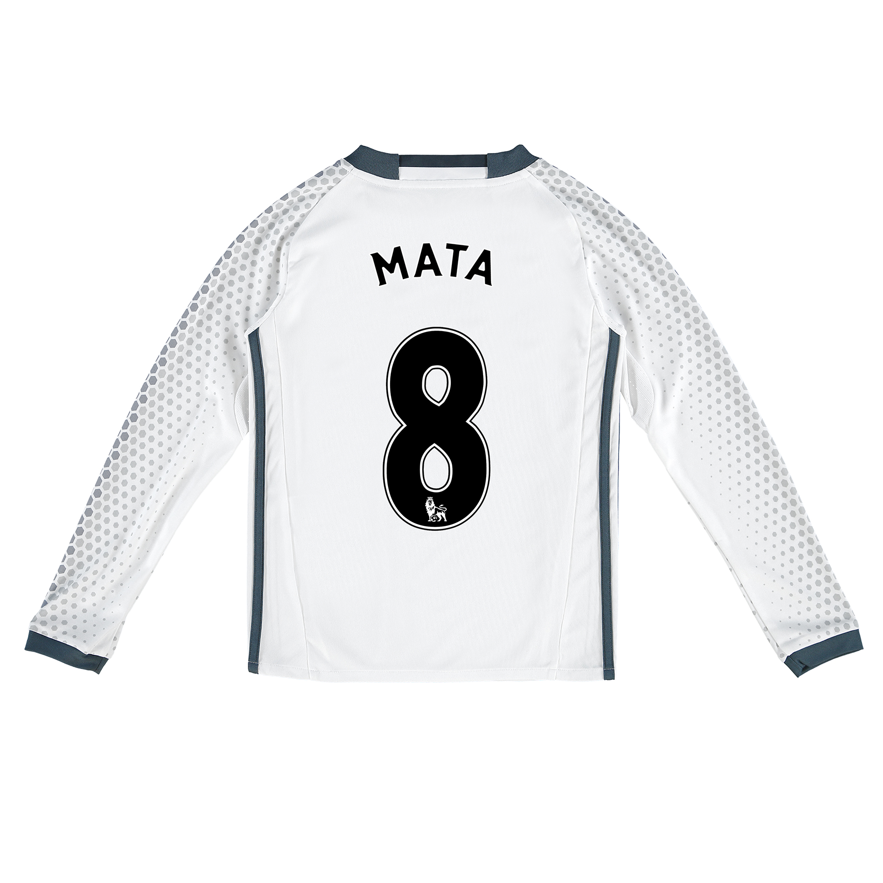 Manchester United Third Shirt 2016-17 - Kids - Long Sleeve with Mata 8