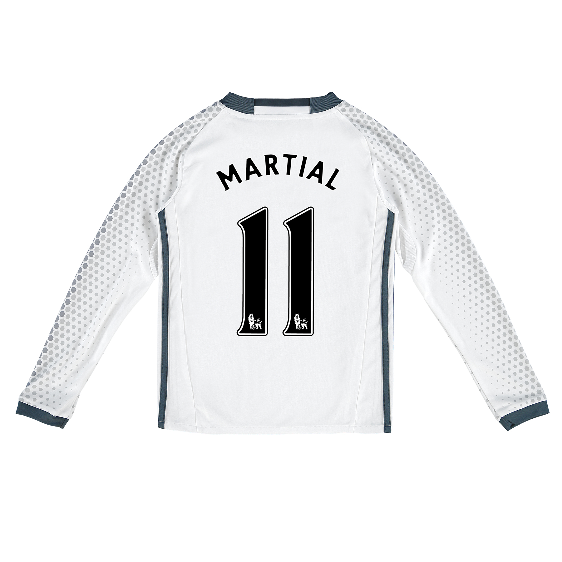 Manchester United Third Shirt 2016-17 - Kids - Long Sleeve with Martia