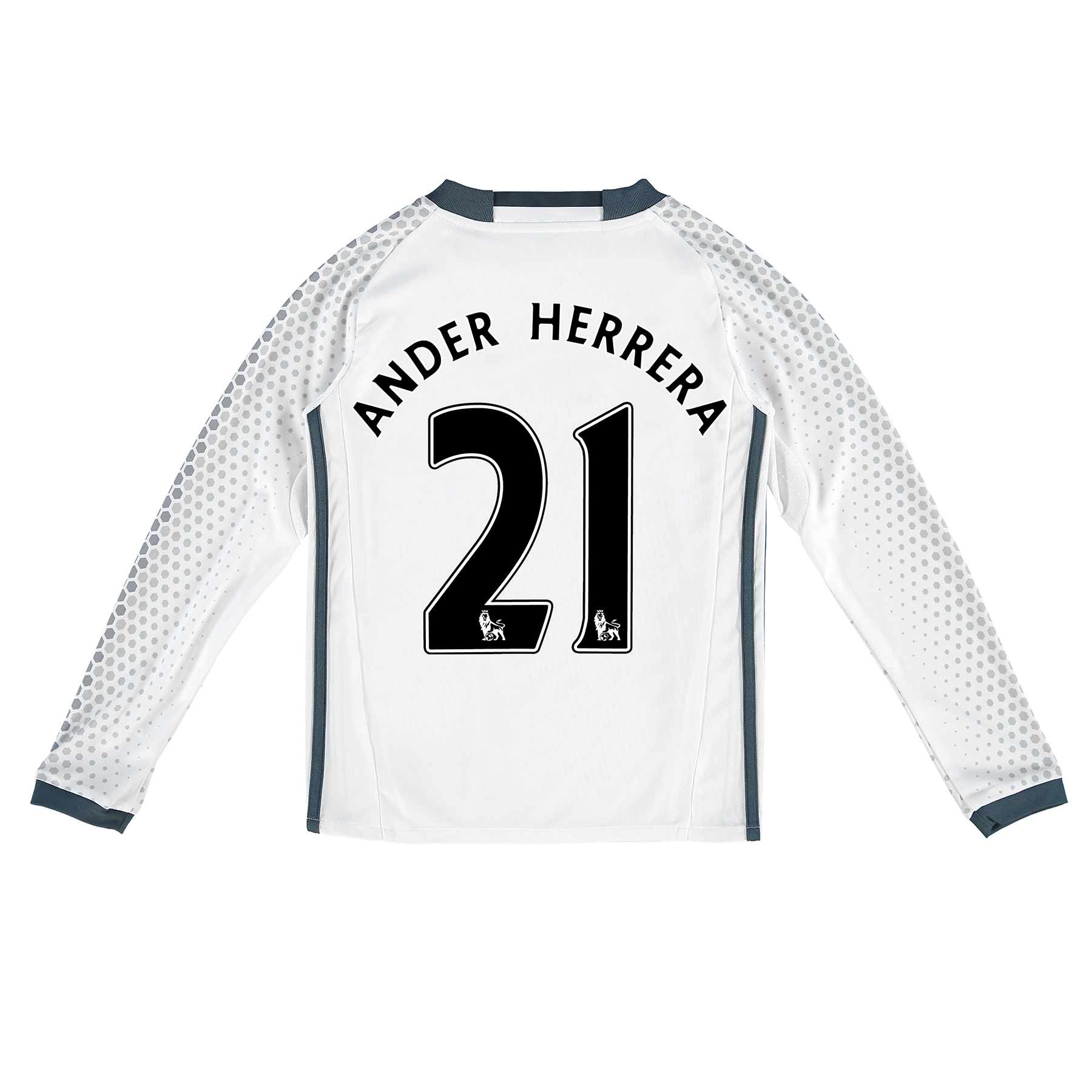 Manchester United Third Shirt 2016-17 - Kids - Long Sleeve with Herrer