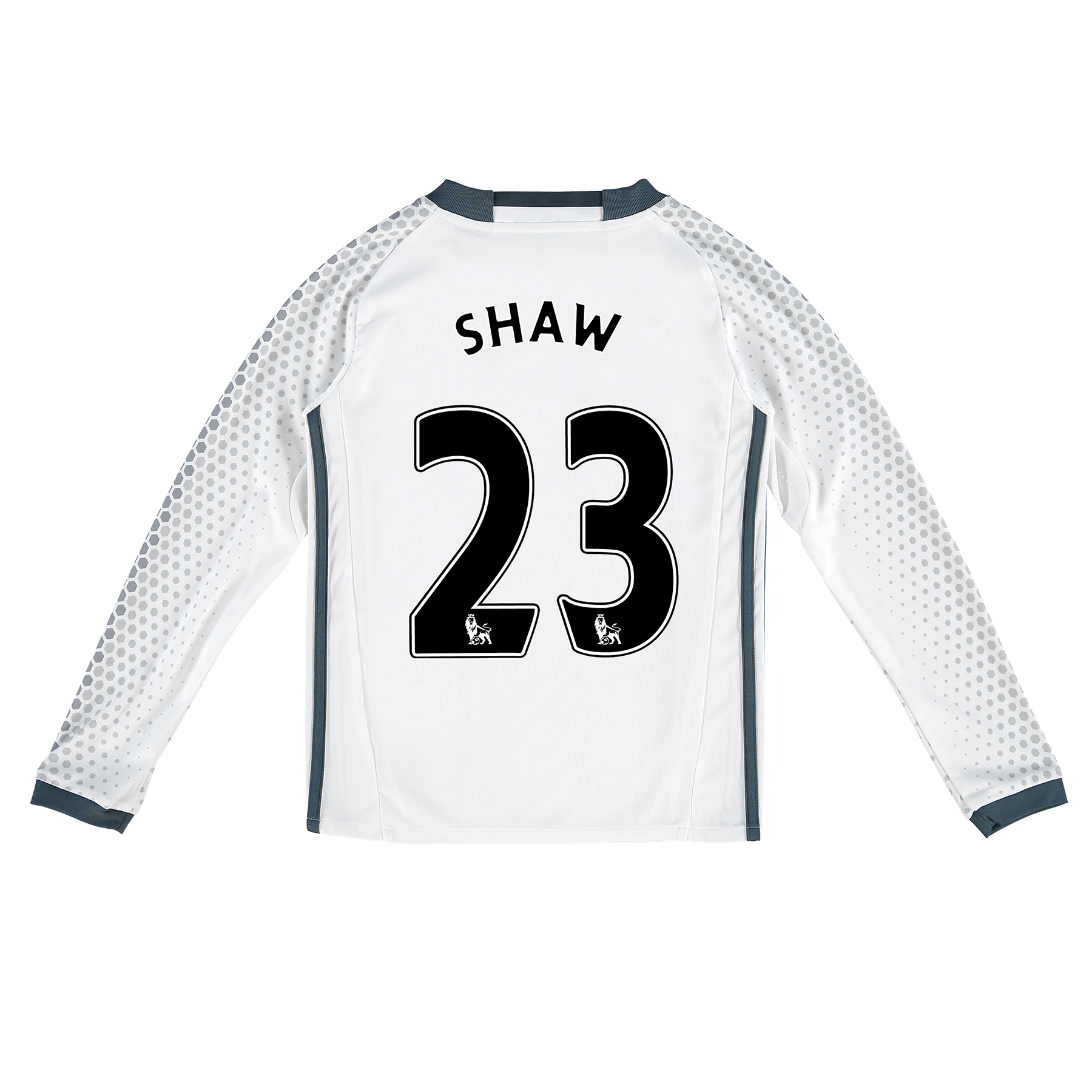 Manchester United Third Shirt 2016-17 - Kids - Long Sleeve with Shaw 2