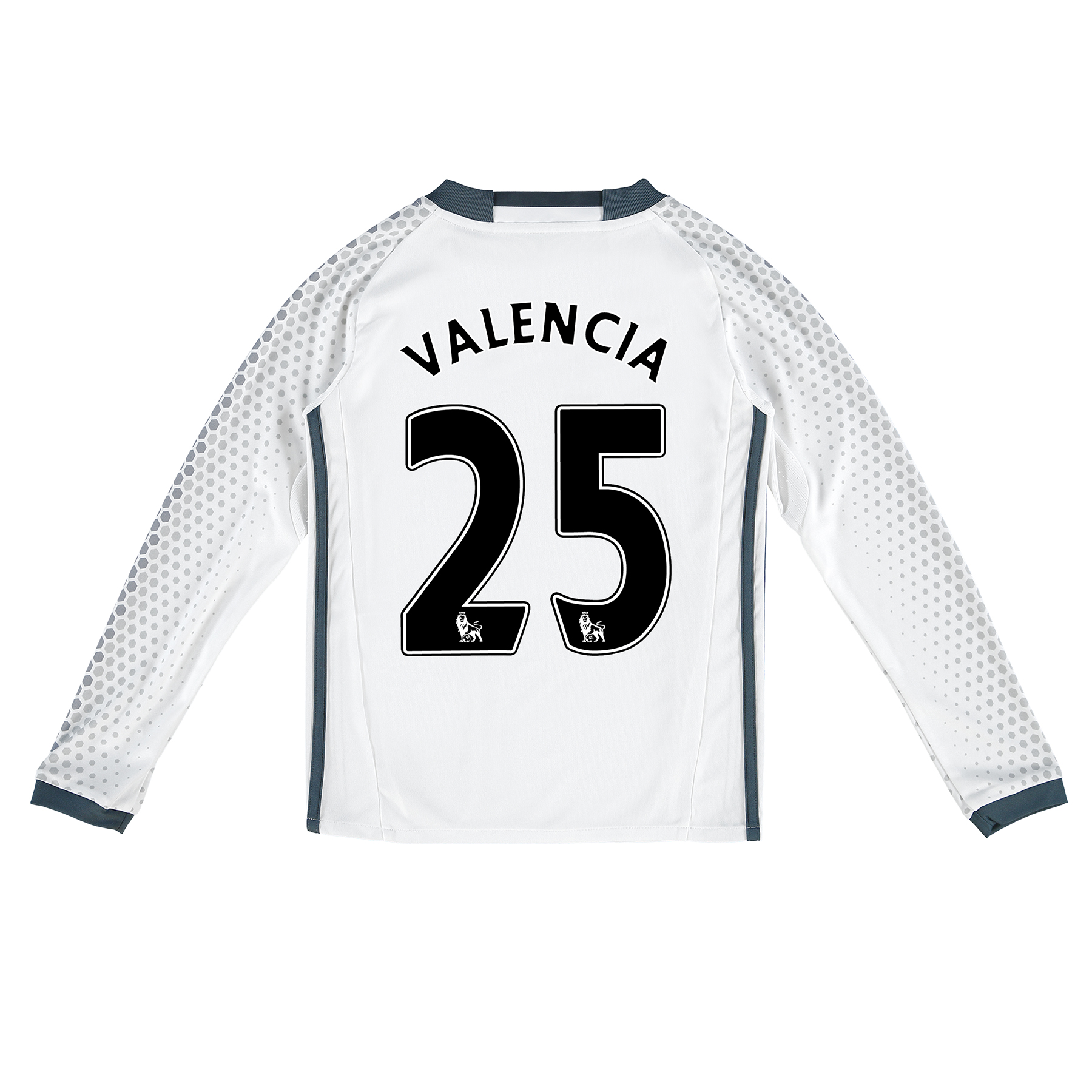 Manchester United Third Shirt 2016-17 - Kids - Long Sleeve with Valenc
