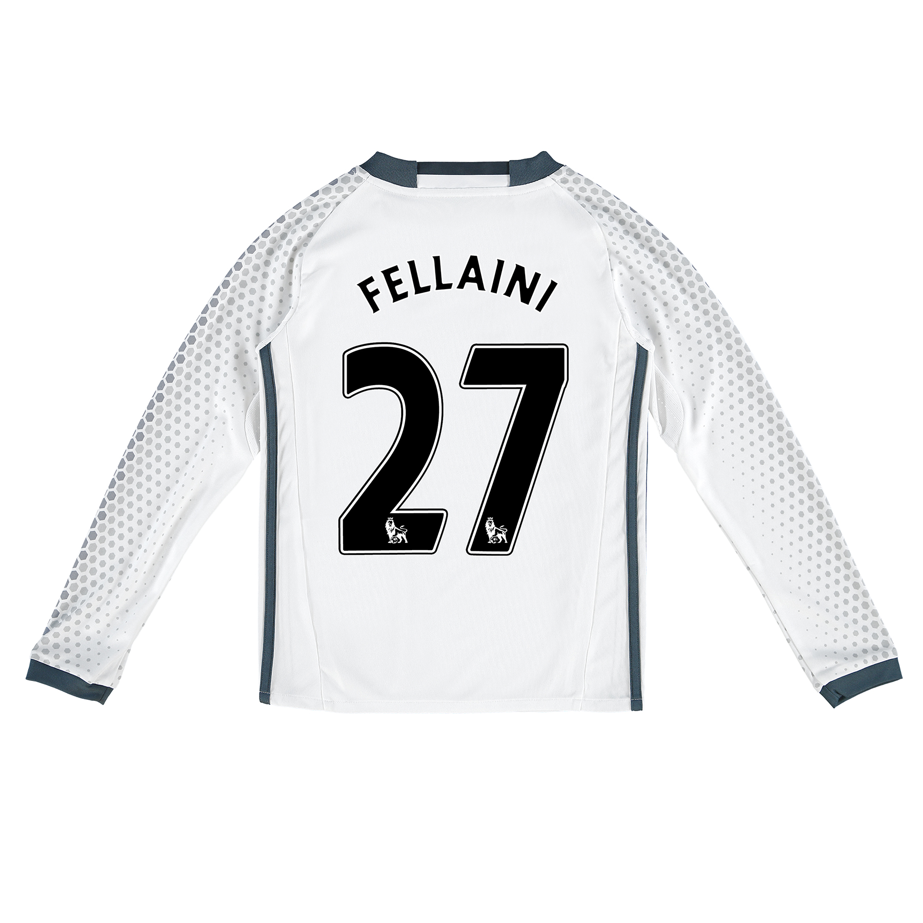 Manchester United Third Shirt 2016-17 - Kids - Long Sleeve with Fellai