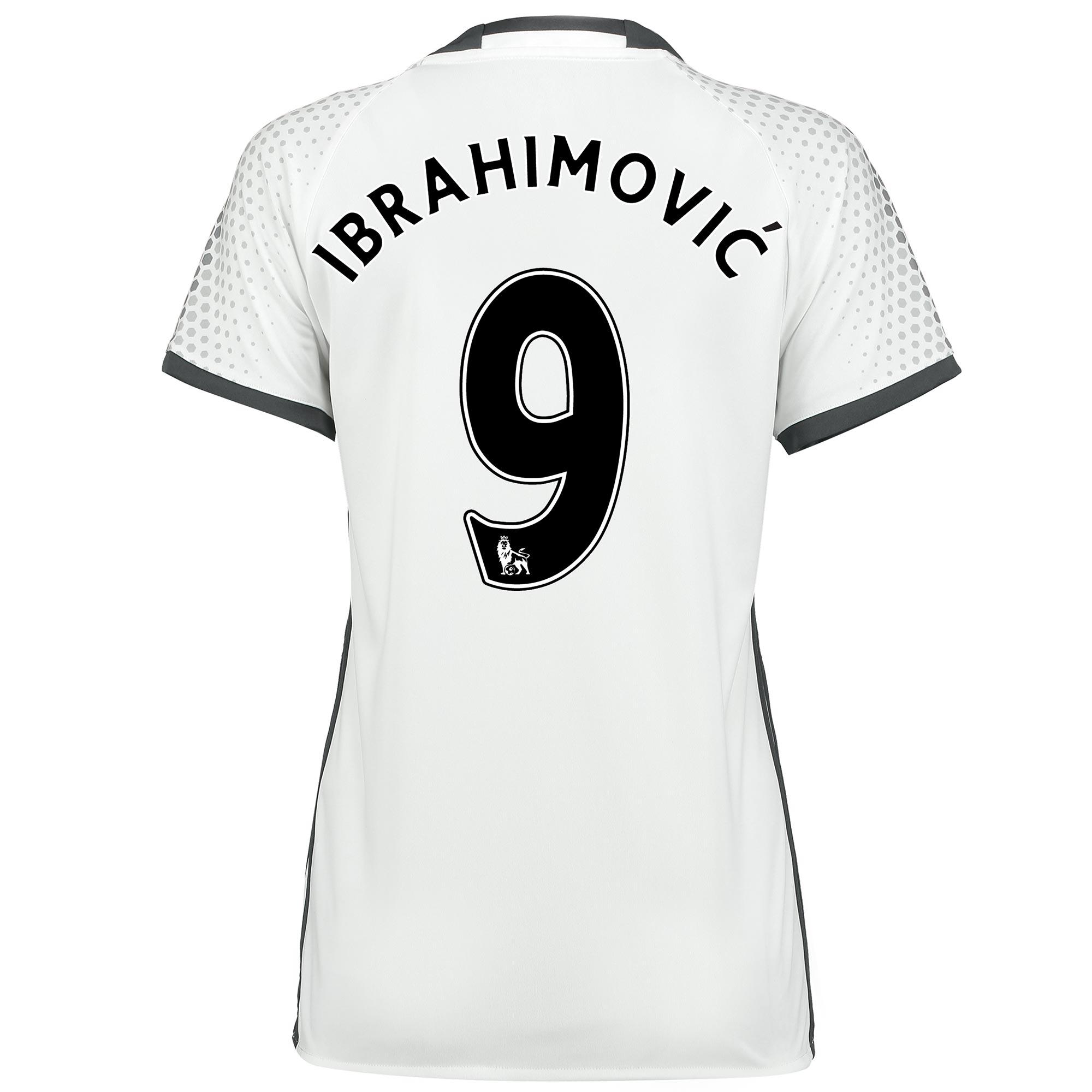 Manchester United Third Shirt 2016-17 - Womens with Ibrahimovic 9 prin
