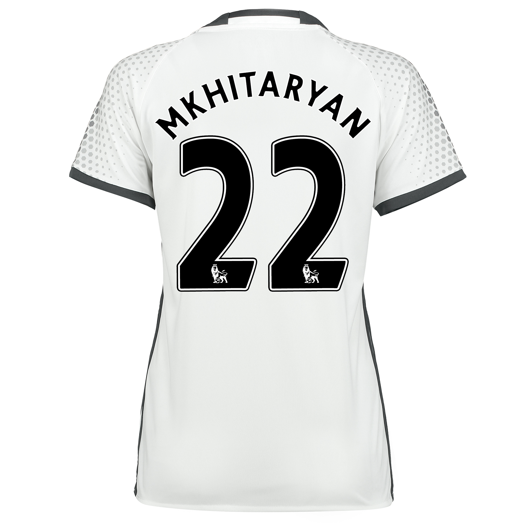 Manchester United Third Shirt 2016-17 - Womens with Mkhitaryan 22 prin