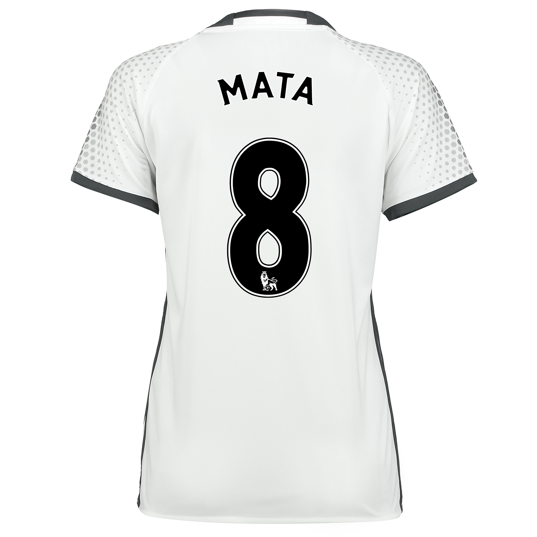 Manchester United Third Shirt 2016-17 - Womens with Mata 8 printing