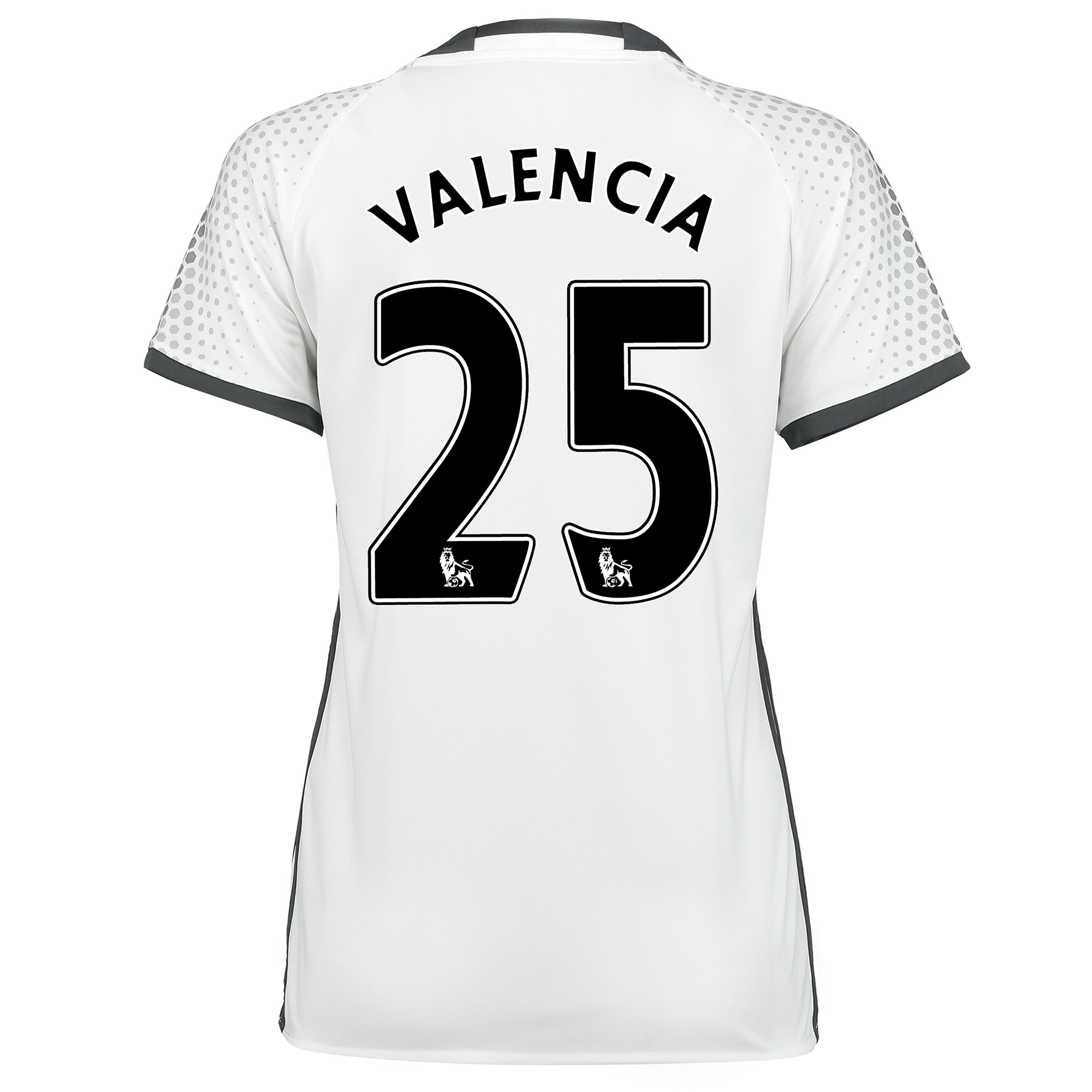 Manchester United Third Shirt 2016-17 - Womens with Valencia 25 printi