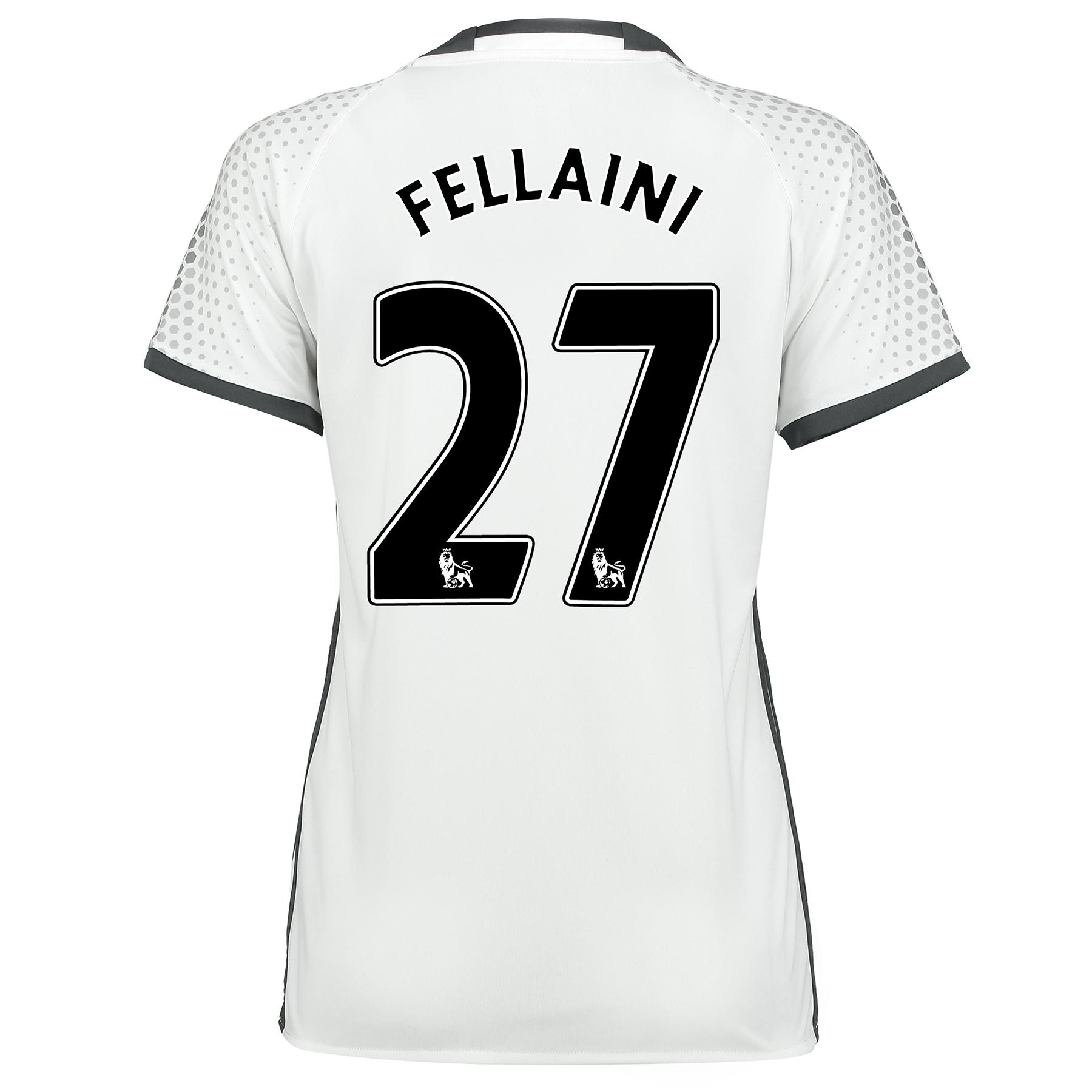 Manchester United Third Shirt 2016-17 - Womens with Fellaini 27 printi