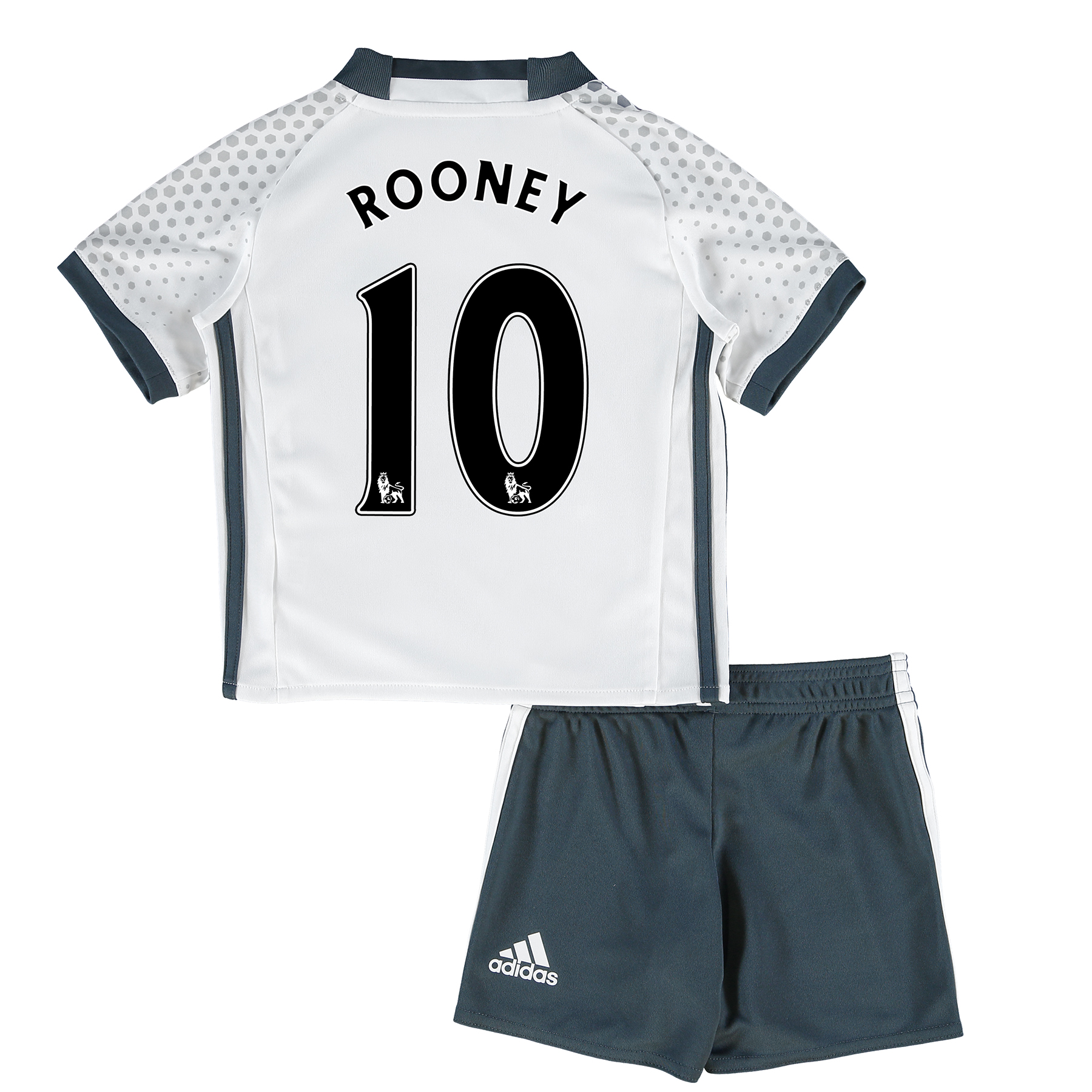 Manchester United Third Mini Kit 2016-17 with Rooney 10 printing