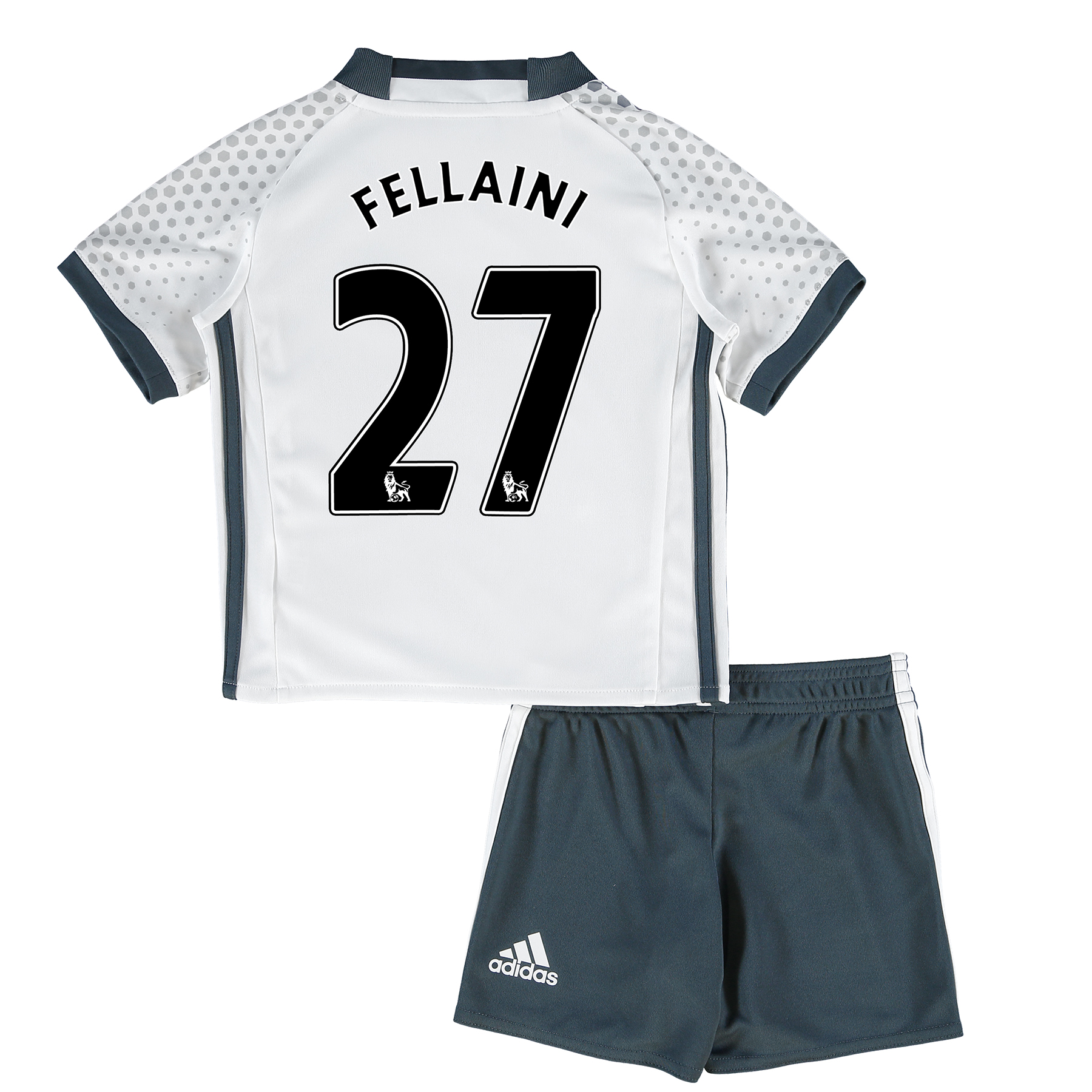 Manchester United Third Mini Kit 2016-17 with Fellaini 27 printing