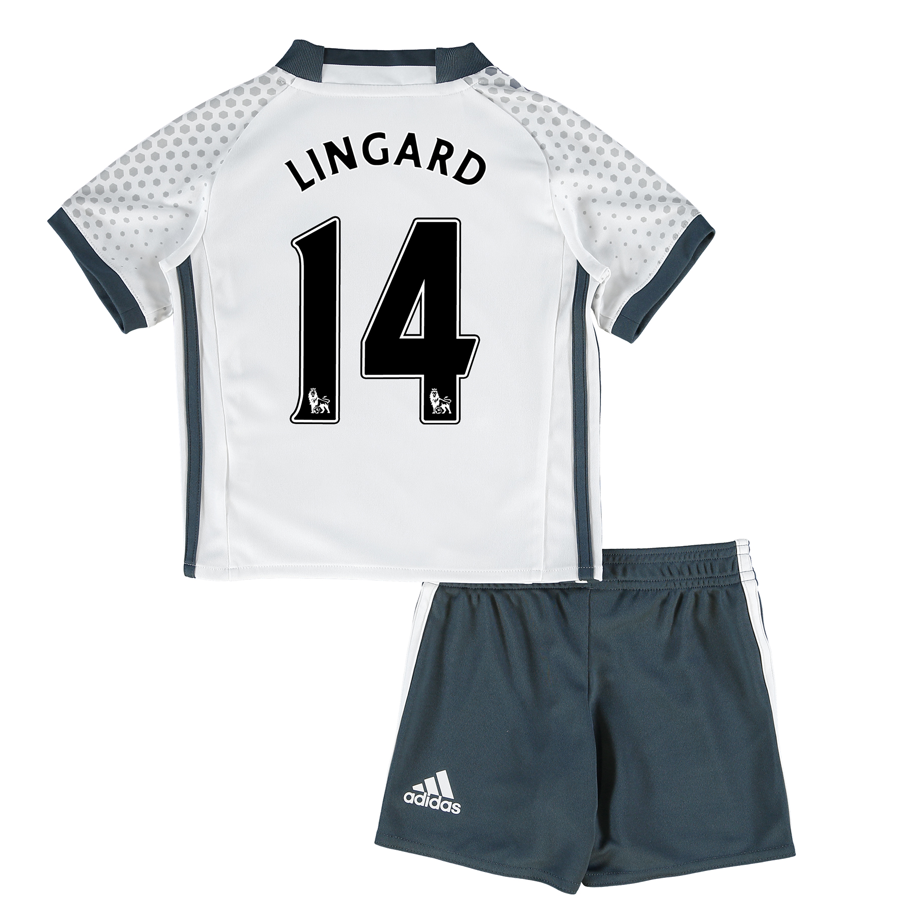 Manchester United Third Mini Kit 2016-17 with Lingard 14 printing
