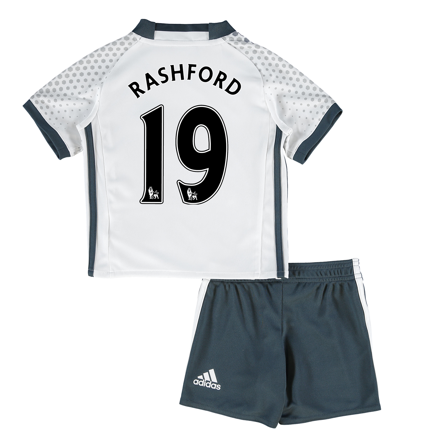 Manchester United Third Mini Kit 2016-17 with Rashford 19 printing