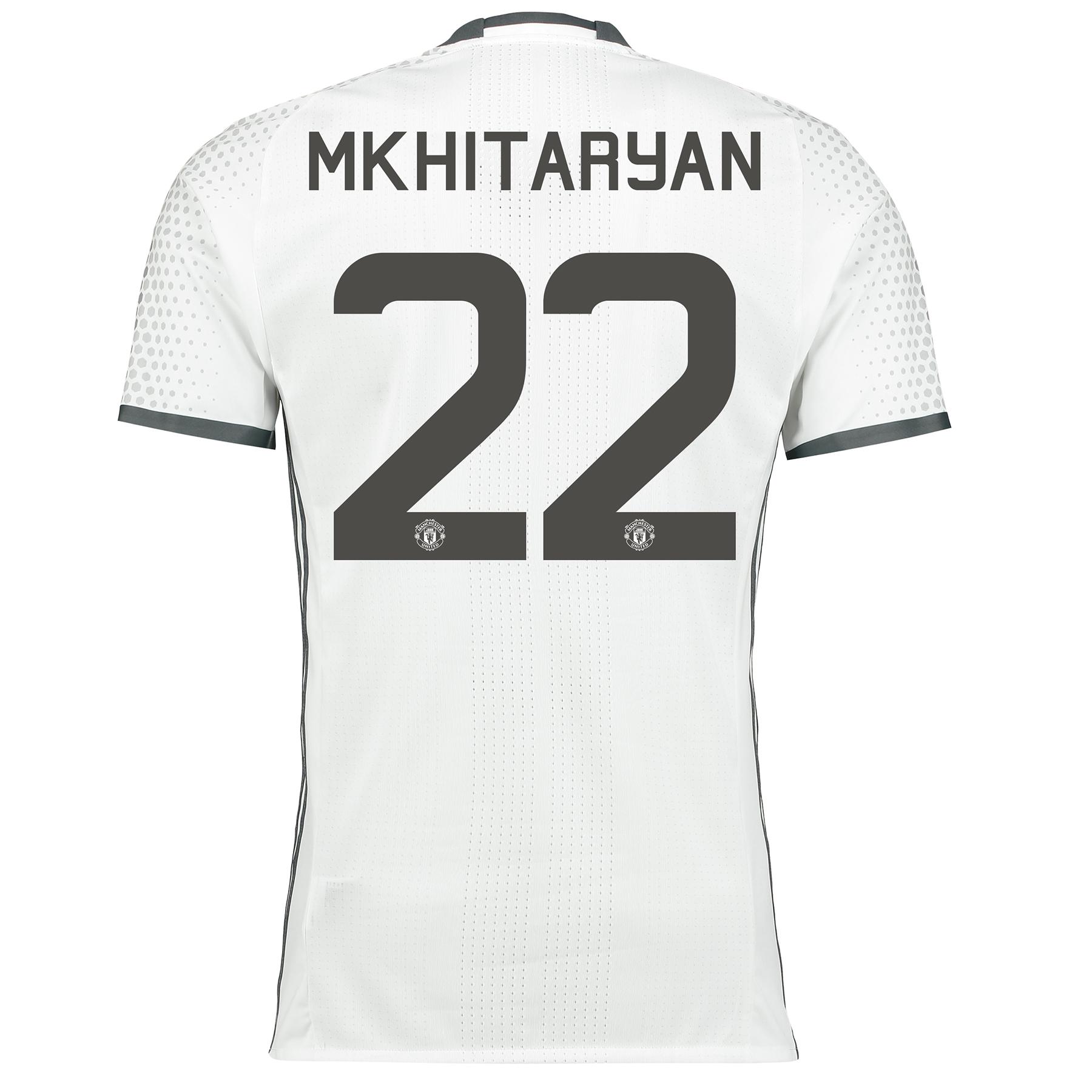 Manchester United Cup Third Adi Zero Shirt 2016-17 with Mkhitaryan 22
