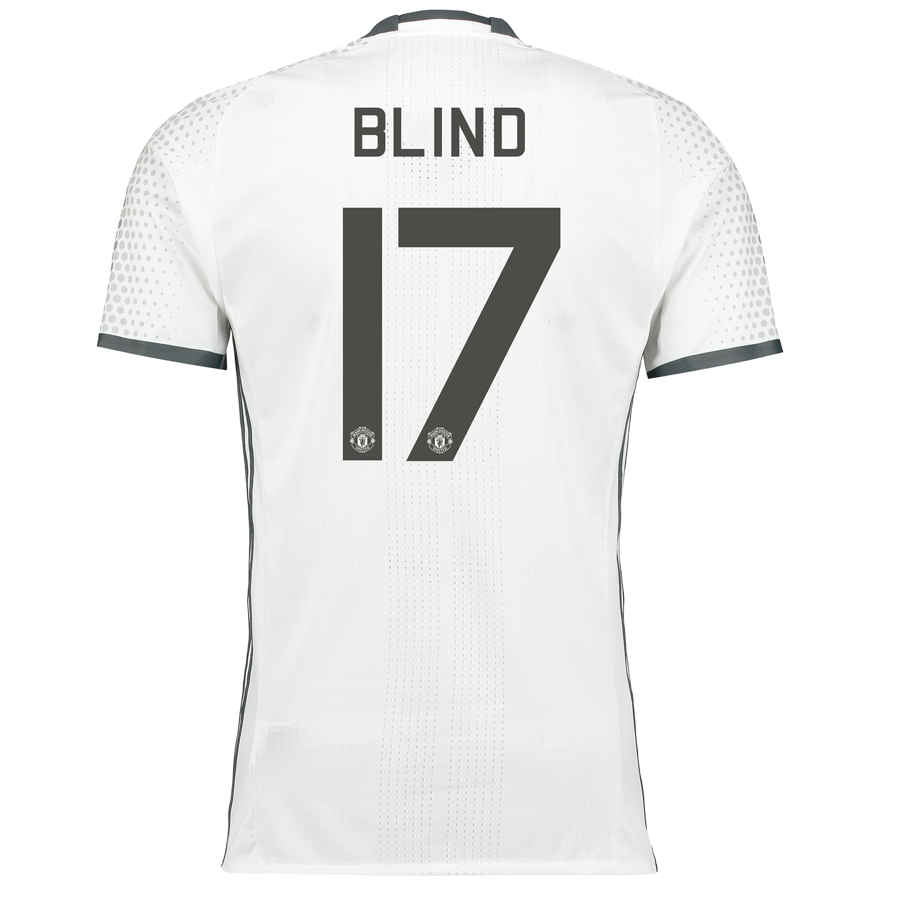 Manchester United Cup Third Adi Zero Shirt 2016-17 with Blind 17 print