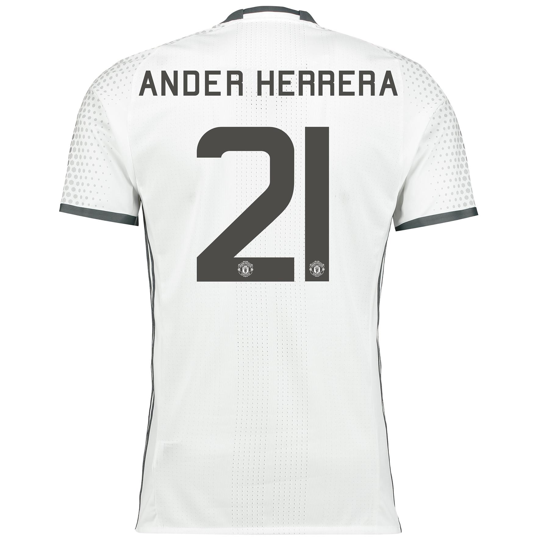 Manchester United Cup Third Adi Zero Shirt 2016-17 with Herrera 21 pri