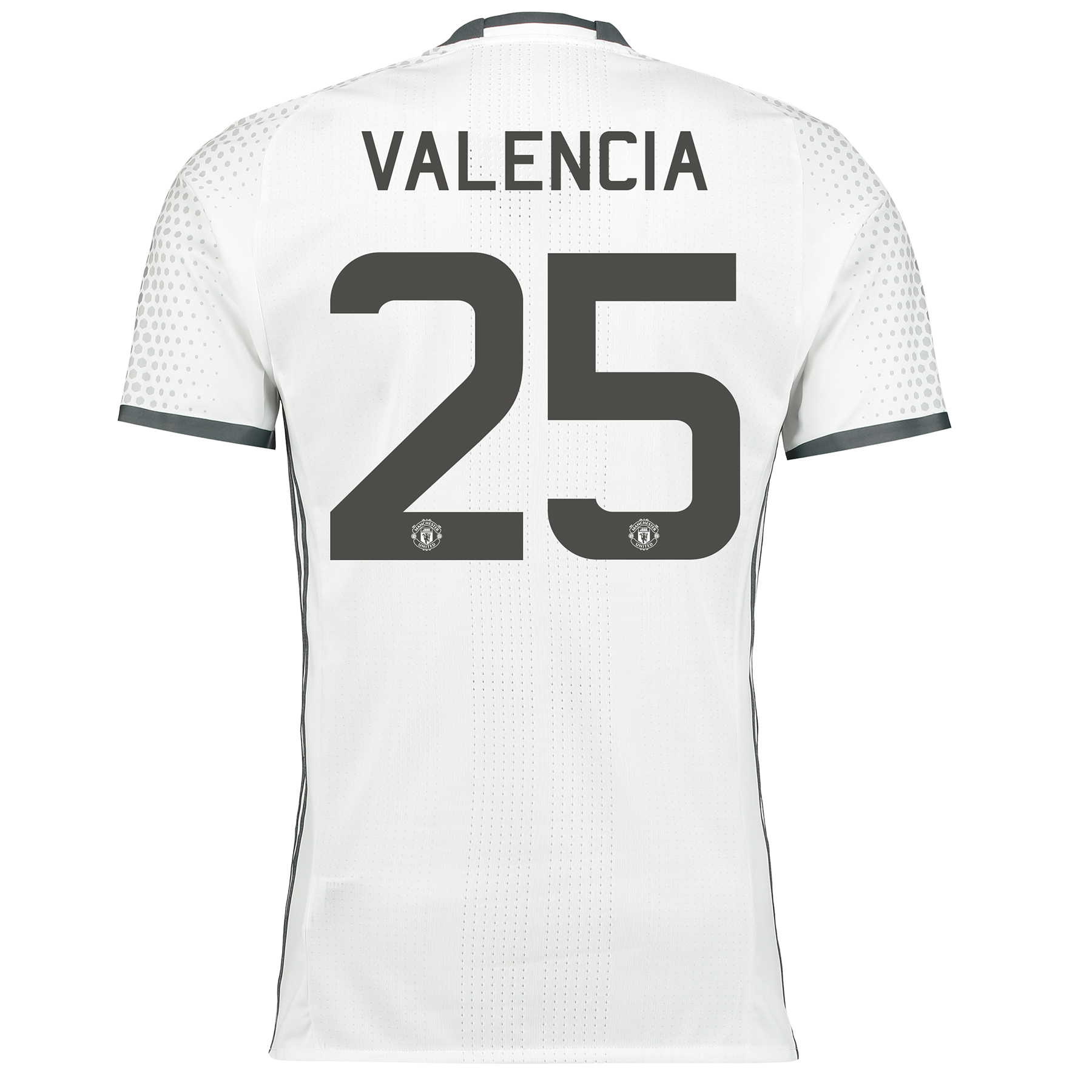 Manchester United Cup Third Adi Zero Shirt 2016-17 with Valencia 25 pr