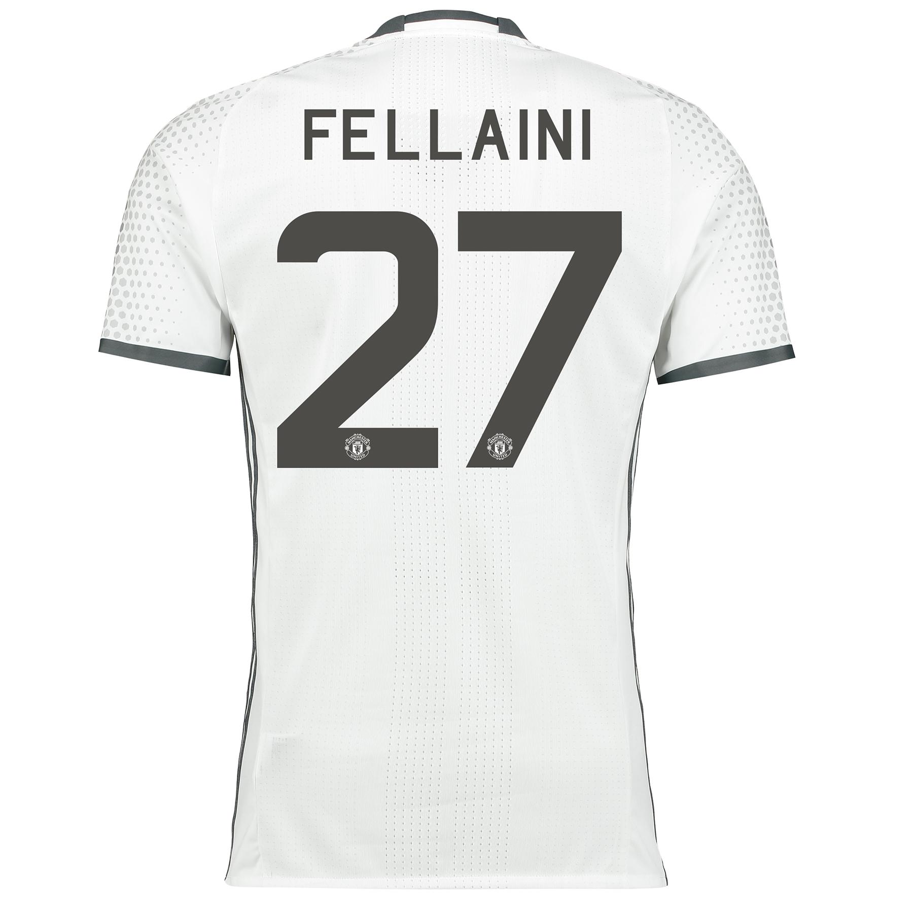 Manchester United Cup Third Adi Zero Shirt 2016-17 with Fellaini 27 pr