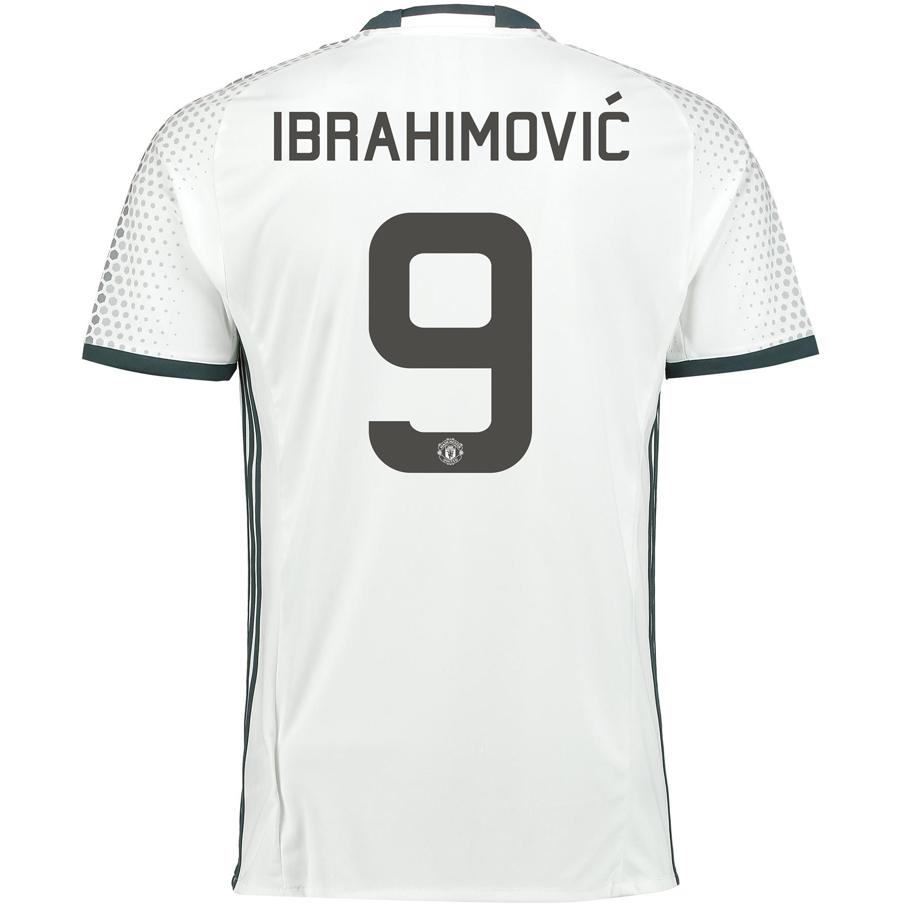 Troisième Maillot Manchester United 2016-17 - Ibrahimovic 9 - Imprimé