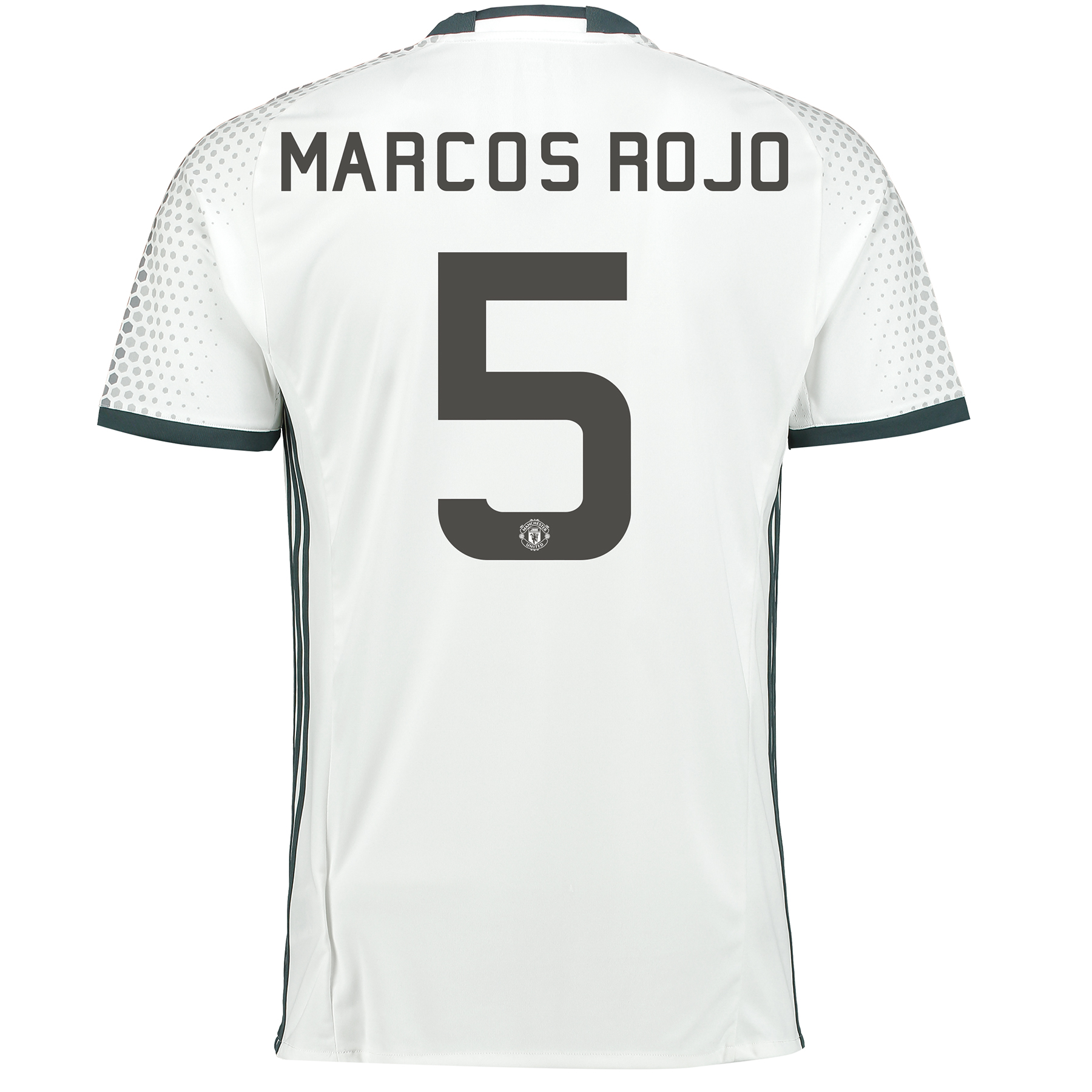 Manchester United Cup Third Shirt 2016-17 with Marcos Rojo 5 printing