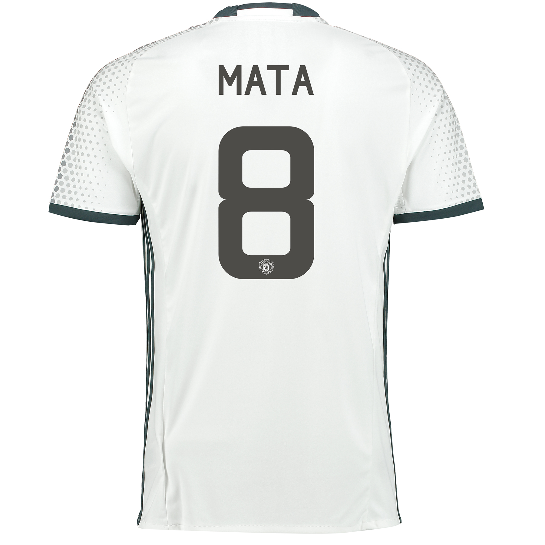 Manchester United Cup Third Shirt 2016-17 with Mata 8 printing